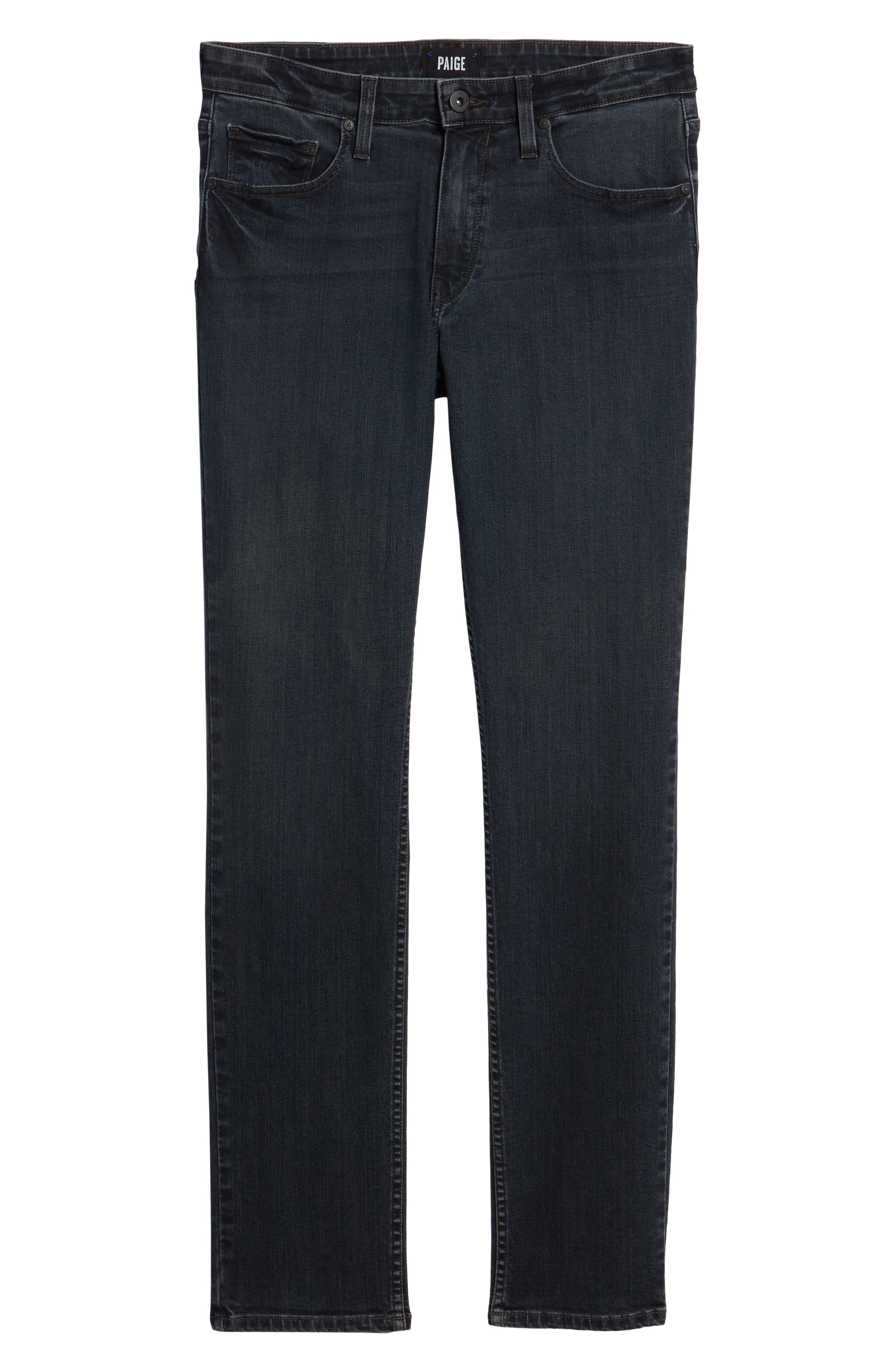 Lennox Slim Fit Jeans,                             Alternate thumbnail 6, color,                             Triton