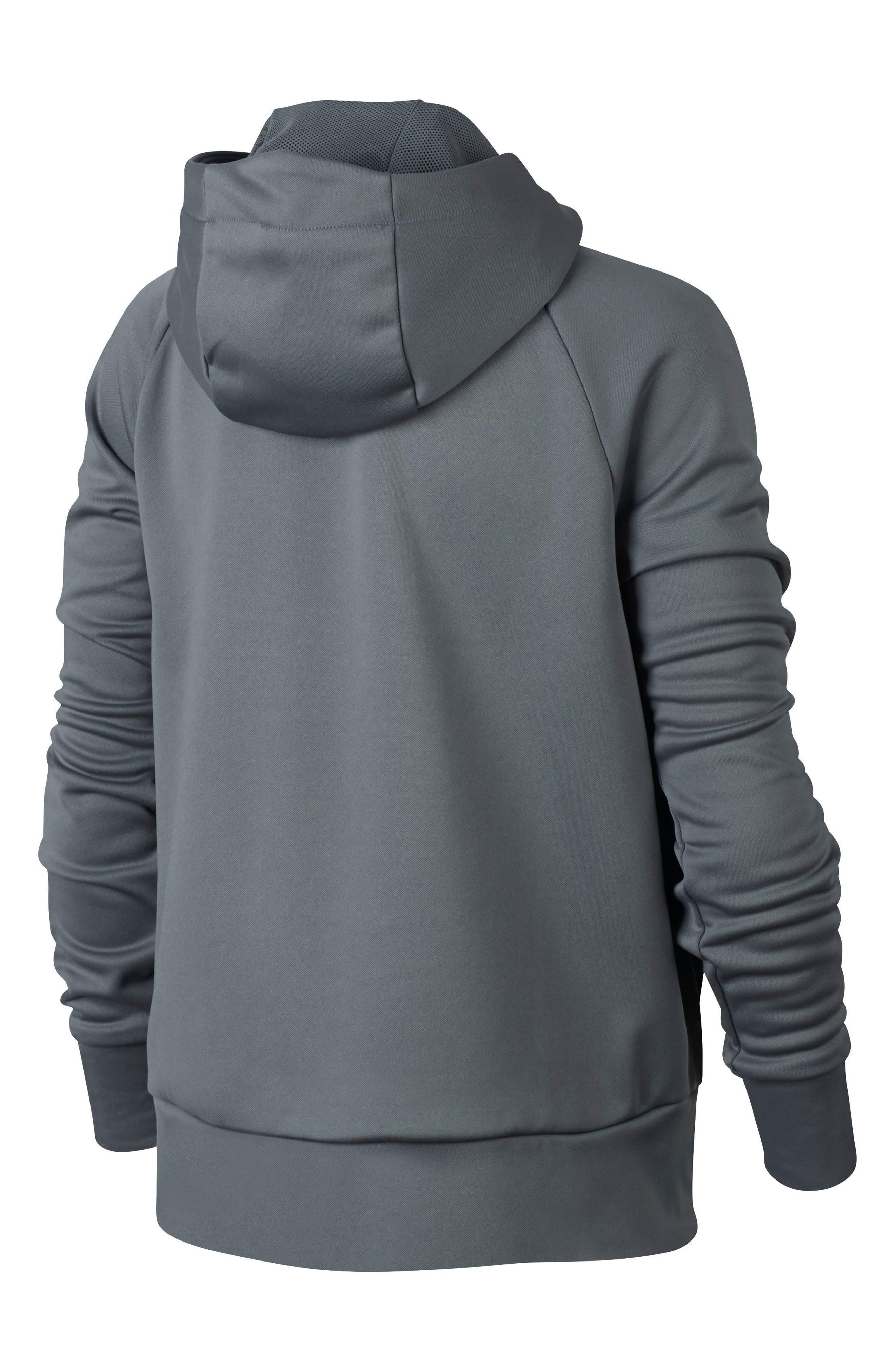 Therma Dry Hoodie,                             Alternate thumbnail 2, color,                             Grey
