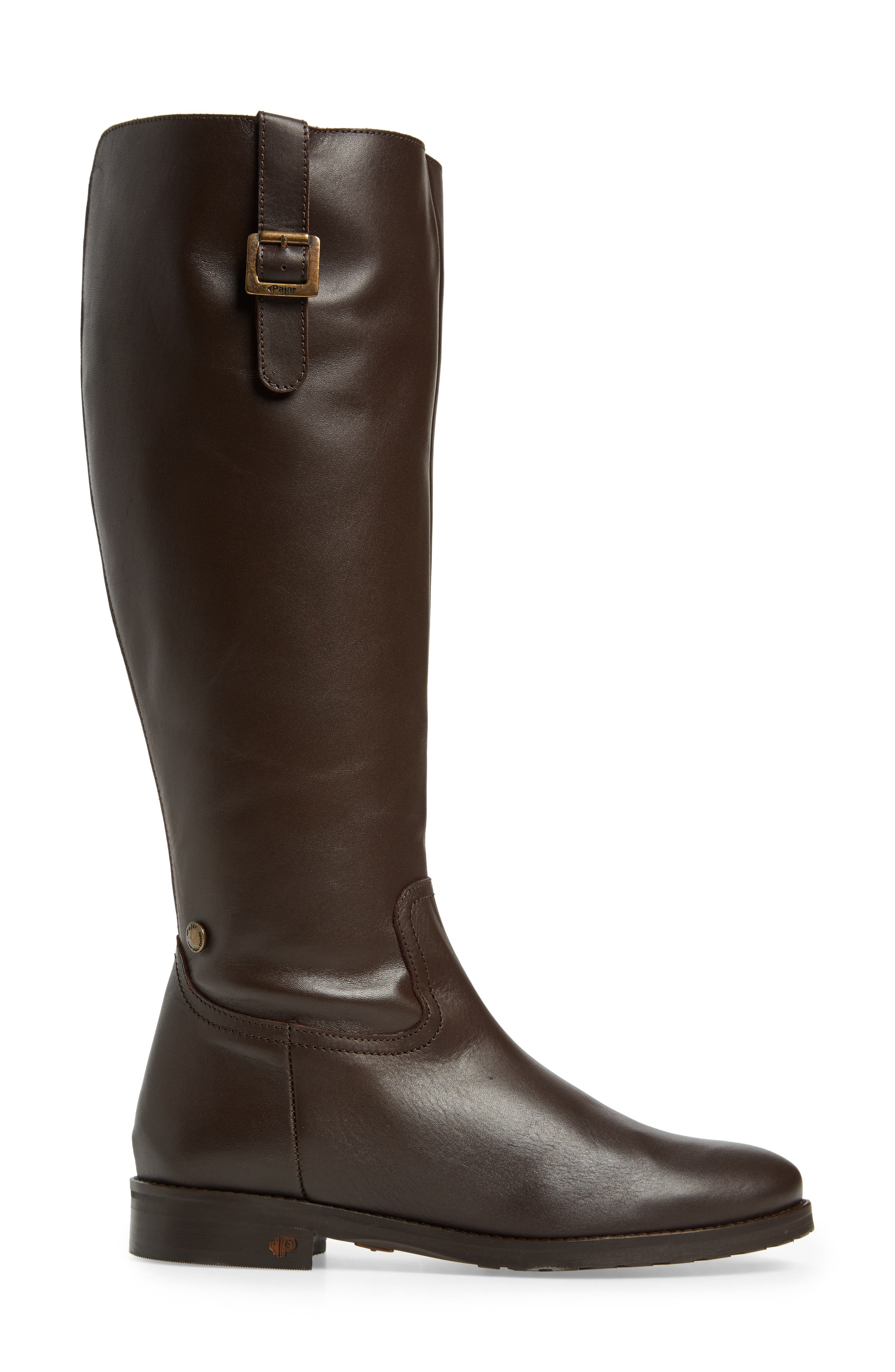 Anson Waterproof Boot,                             Alternate thumbnail 3, color,                             Brown Leather