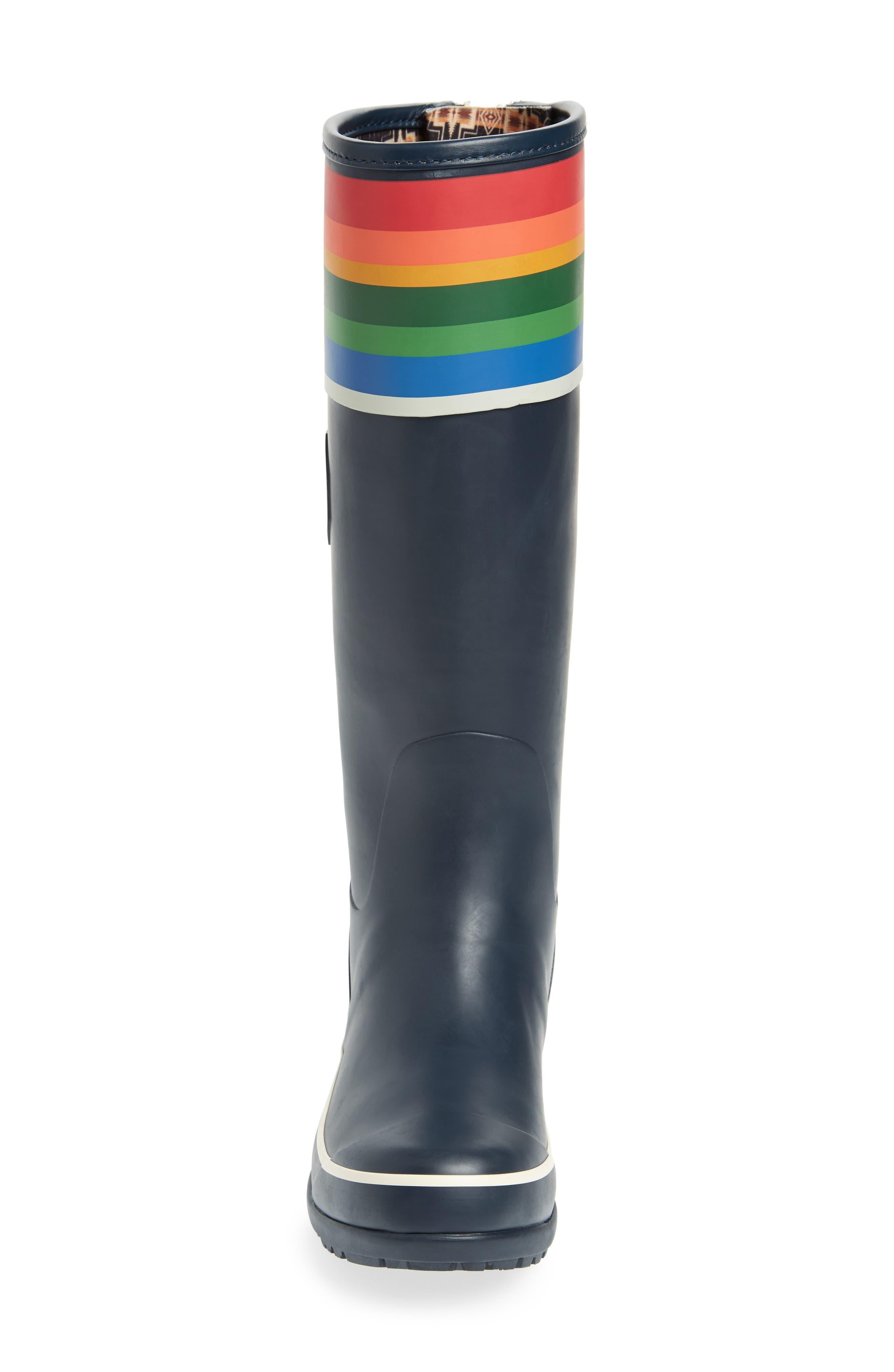 Pendleton Crater Lake National Park Tall Rain Boot,                             Alternate thumbnail 4, color,                             Blue