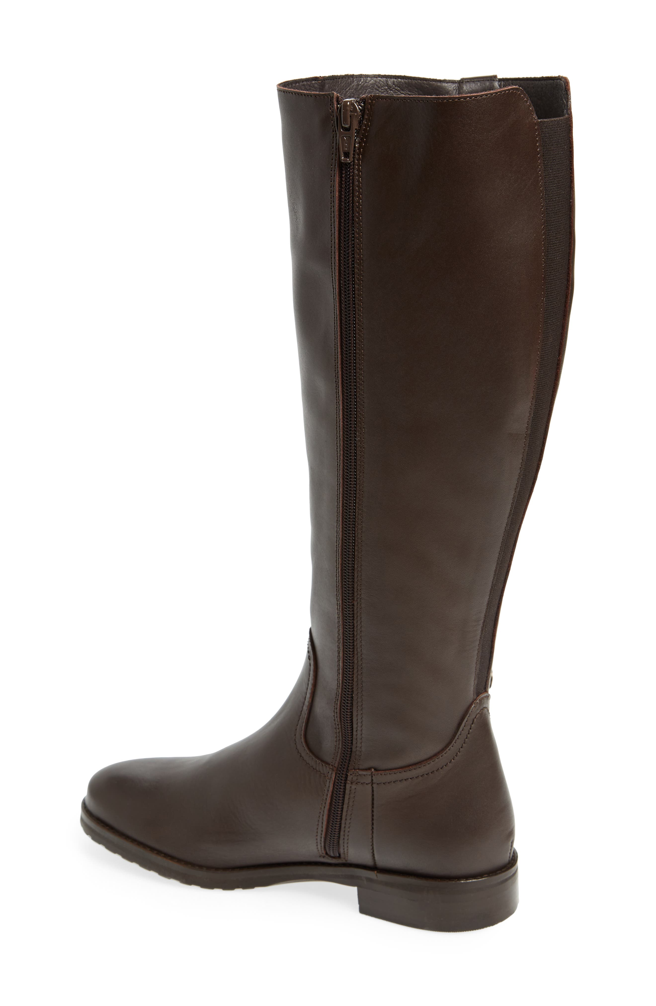 Anson Waterproof Boot,                             Alternate thumbnail 2, color,                             Brown Leather