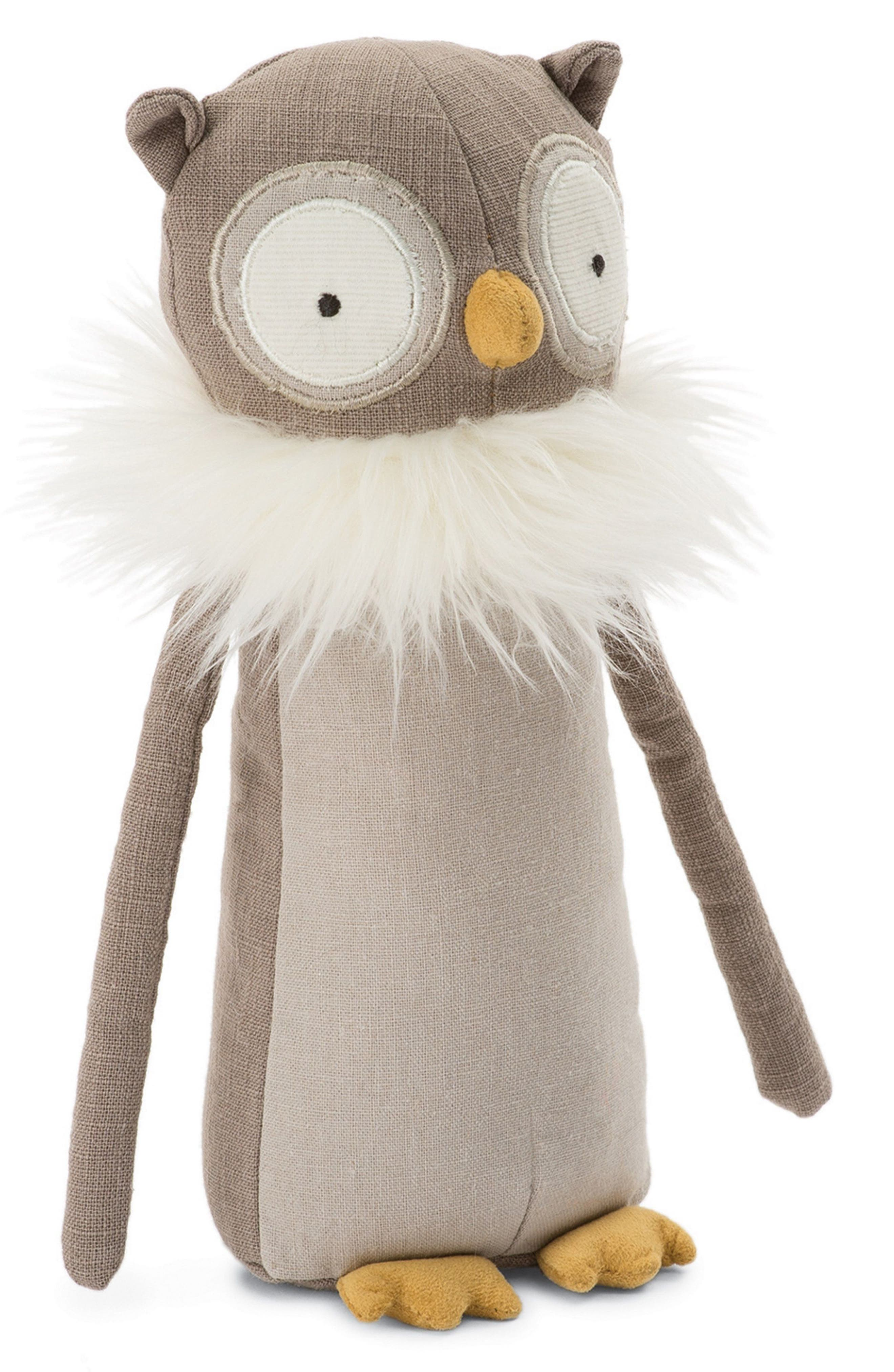 Main Image - Jellycat Skandoodle Owl Stuffed Animal