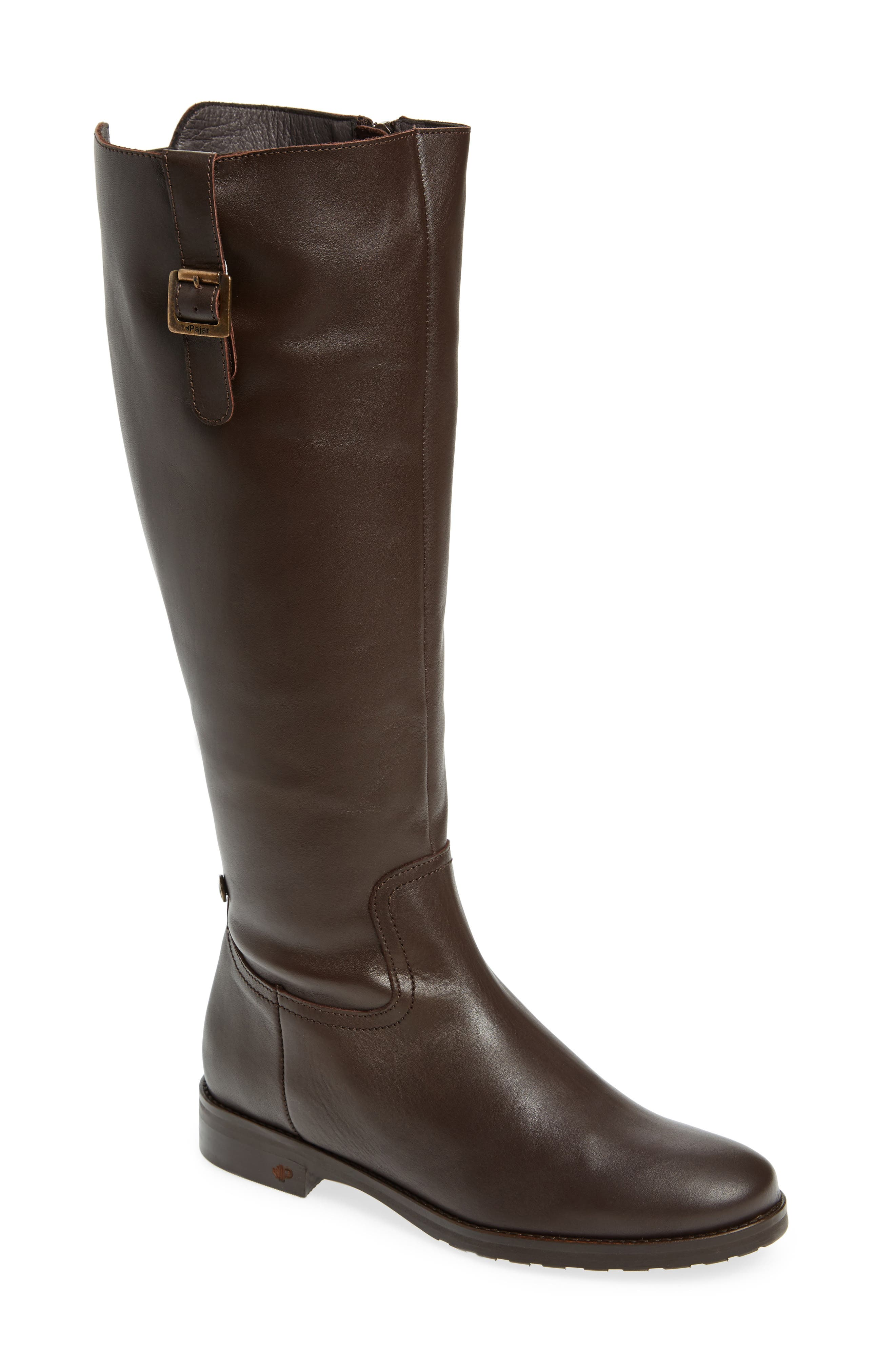 Anson Waterproof Boot,                         Main,                         color, Brown Leather