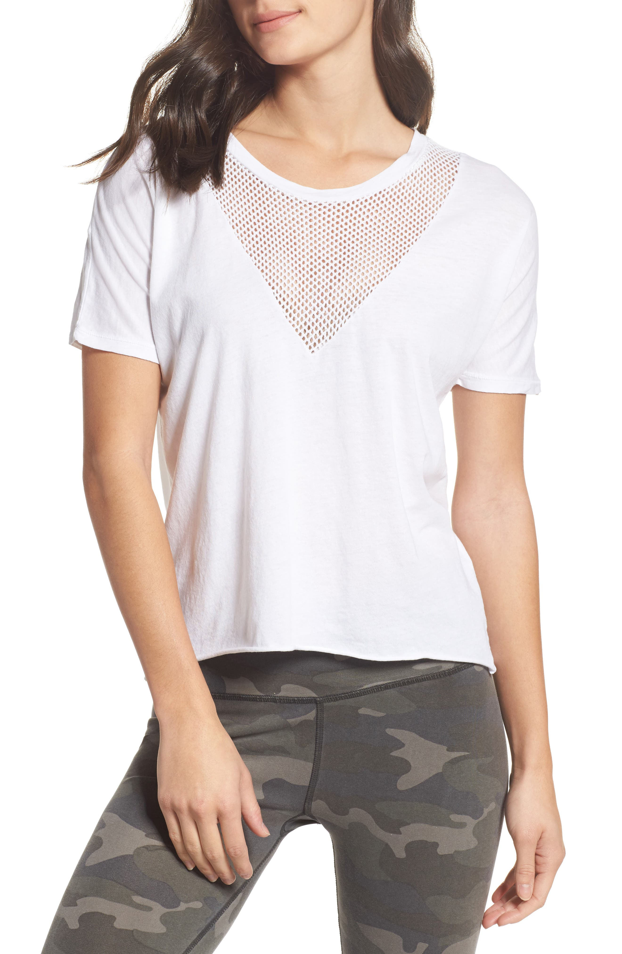 Alternate Image 1 Selected - Ragdoll Mesh Tee