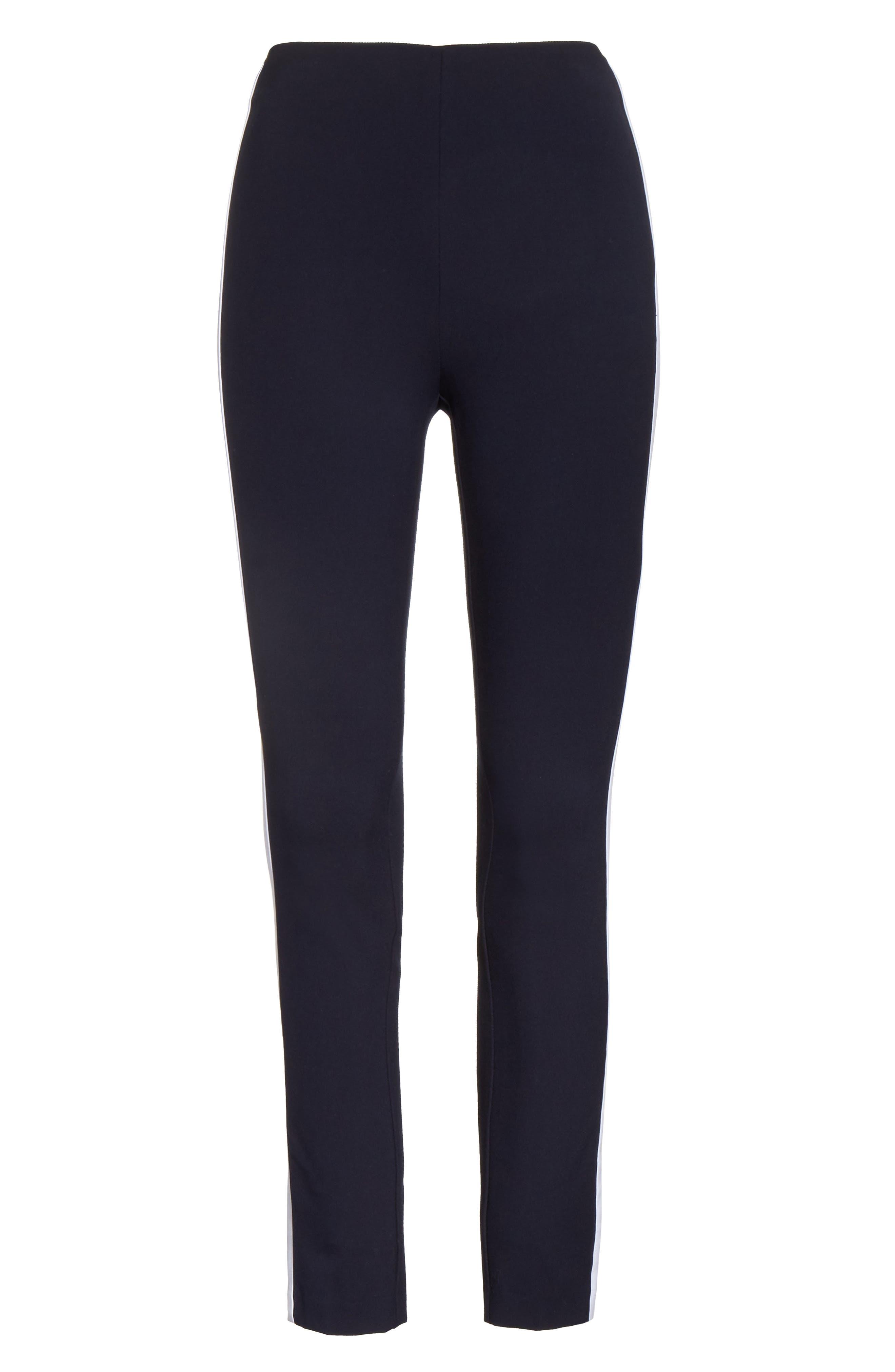 Alternate Image 6  - rag & bone Simone Side Stripe Slim Ankle Pants