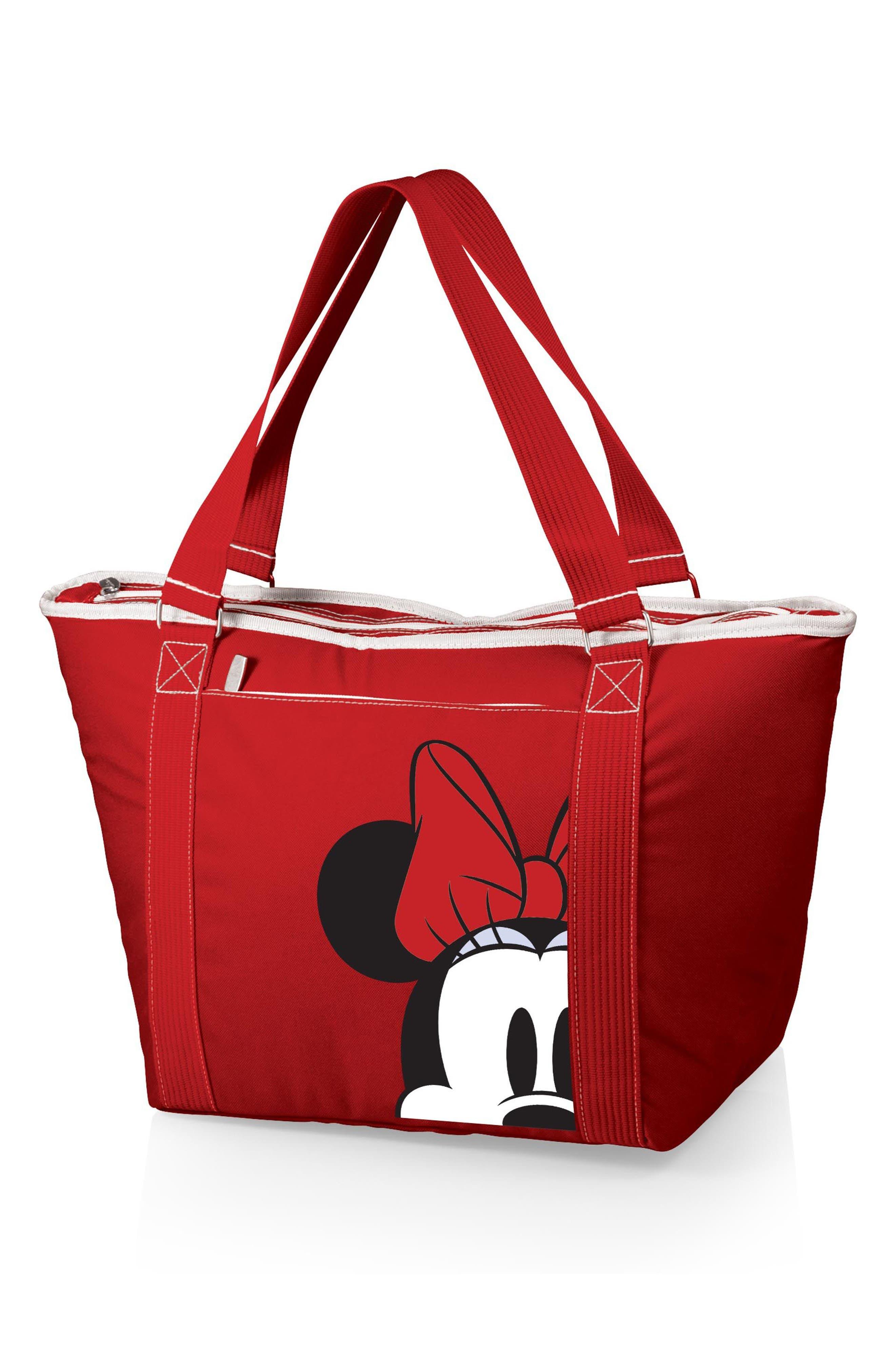 Disney<sup>®</sup> Mickey Mouse Topanga Cooler Tote,                             Main thumbnail 1, color,                             Minnie