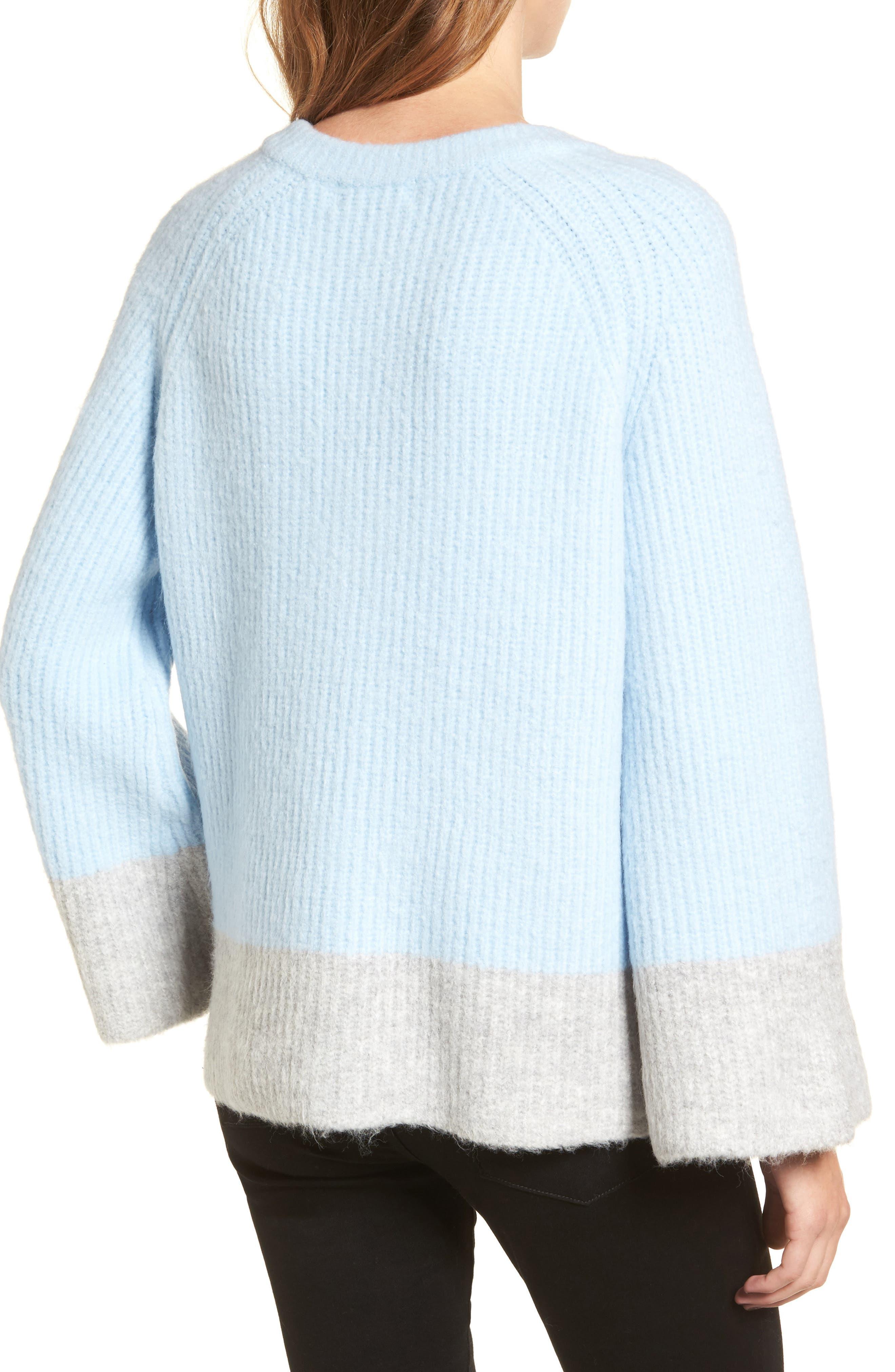 Alternate Image 3  - LOST INK Oversize V-Neck Sweater