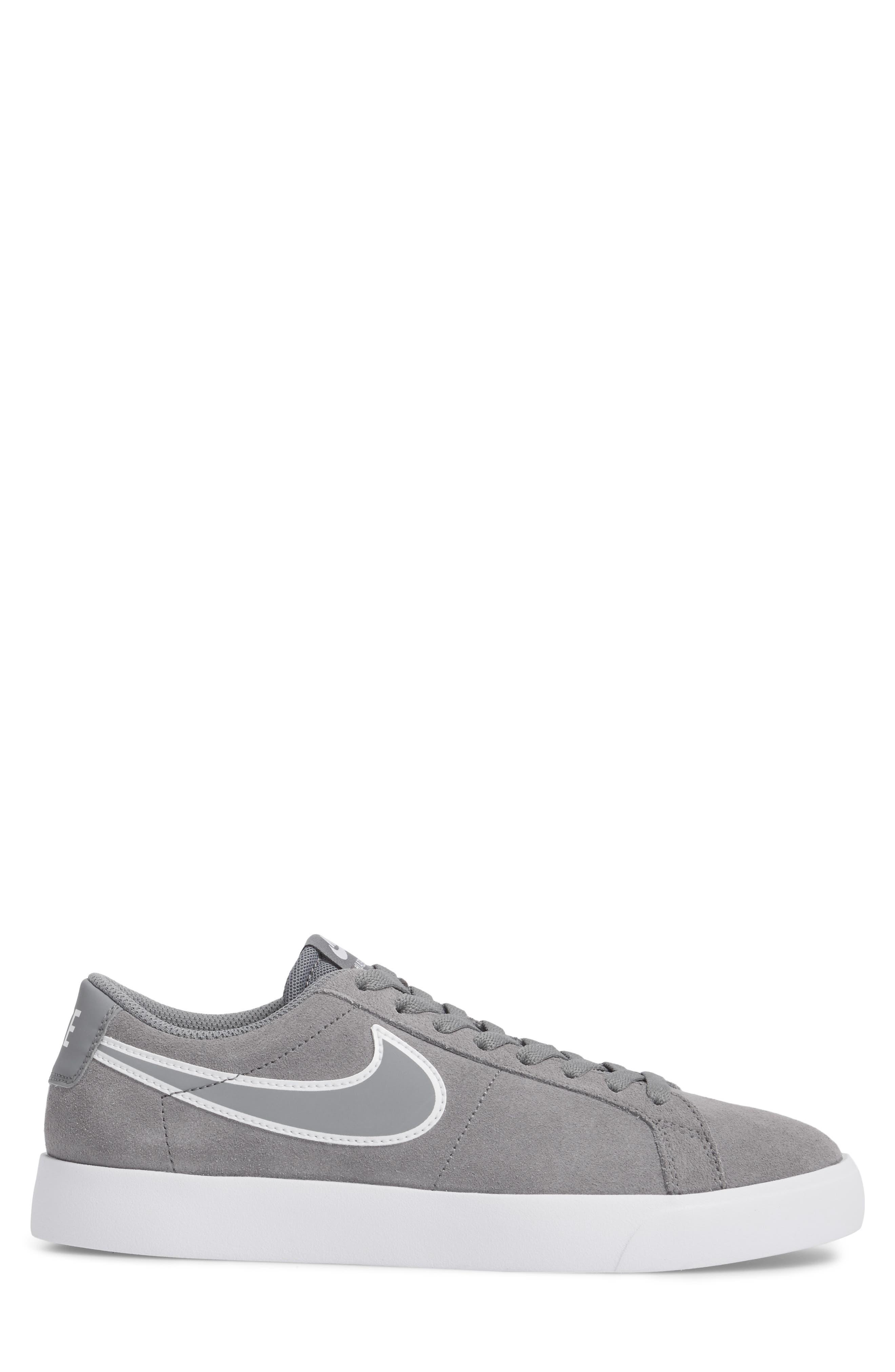 SB Blazer Vapor Skateboarding Sneaker,                             Alternate thumbnail 3, color,                             Cool Grey/Cool Grey/White