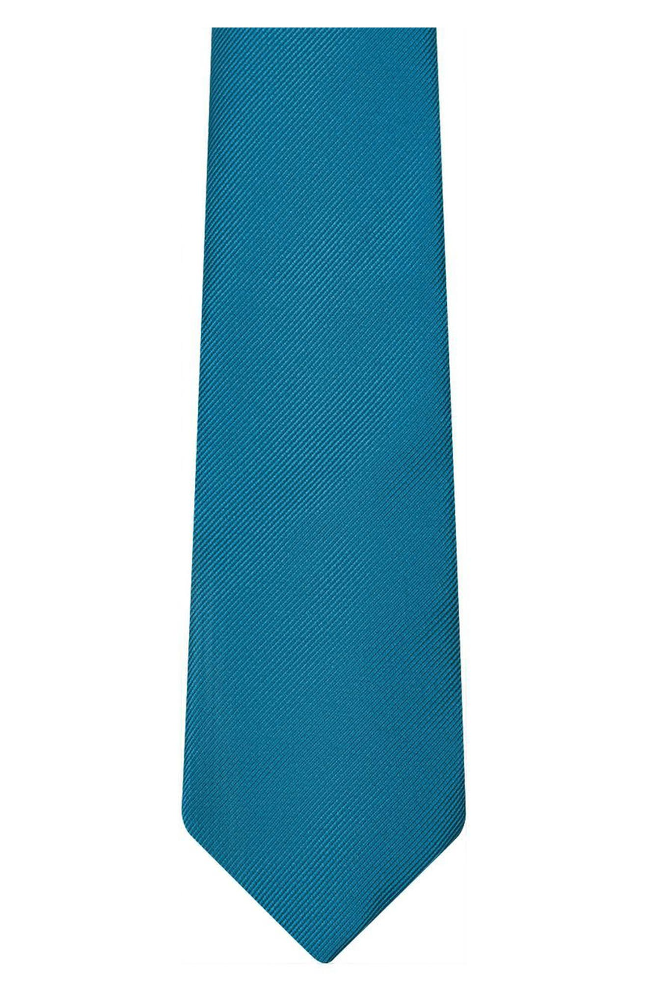 Woven Tie,                             Alternate thumbnail 2, color,                             Teal