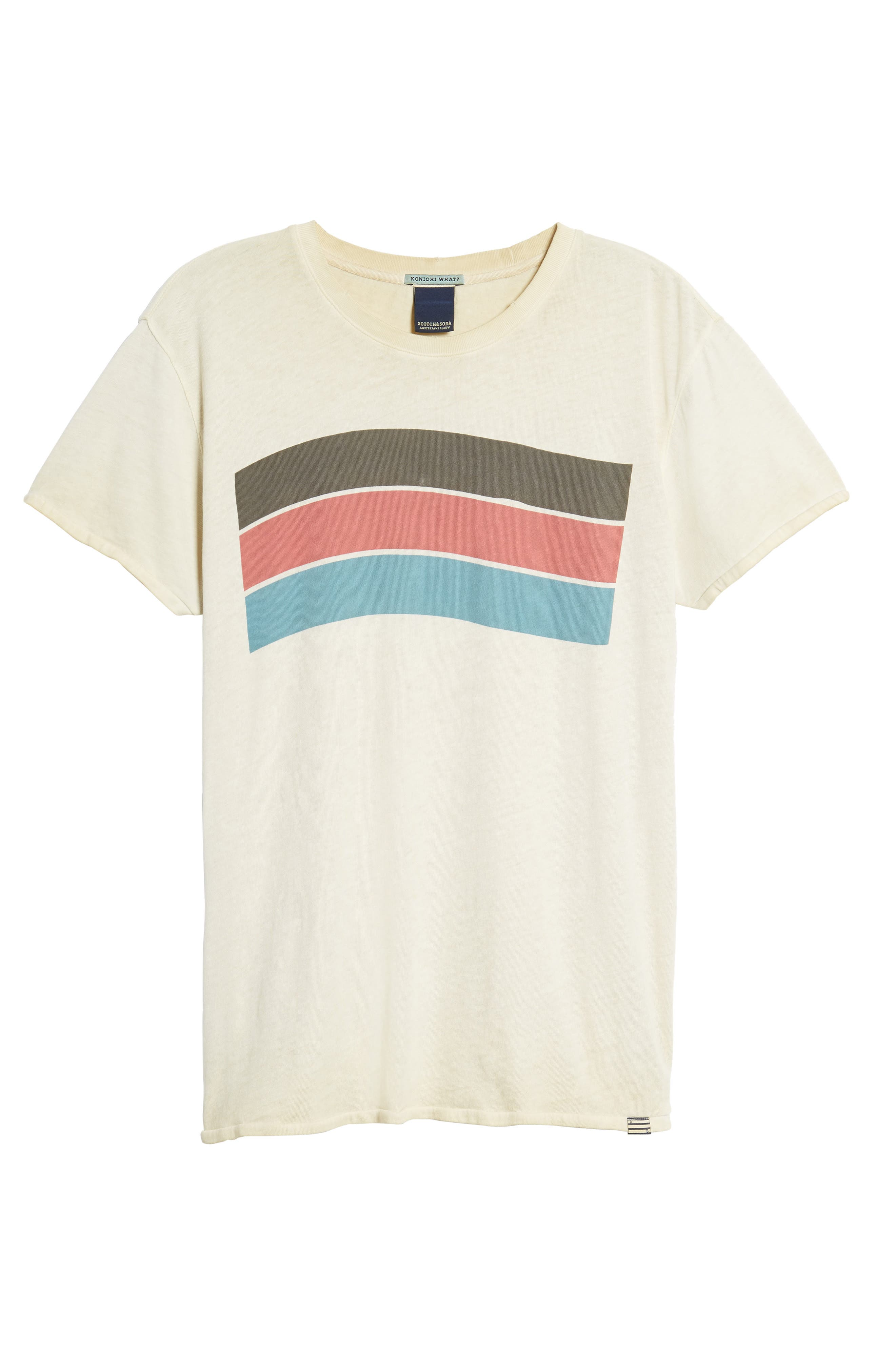 Washed Graphic T-Shirt,                             Alternate thumbnail 6, color,                             Ecru