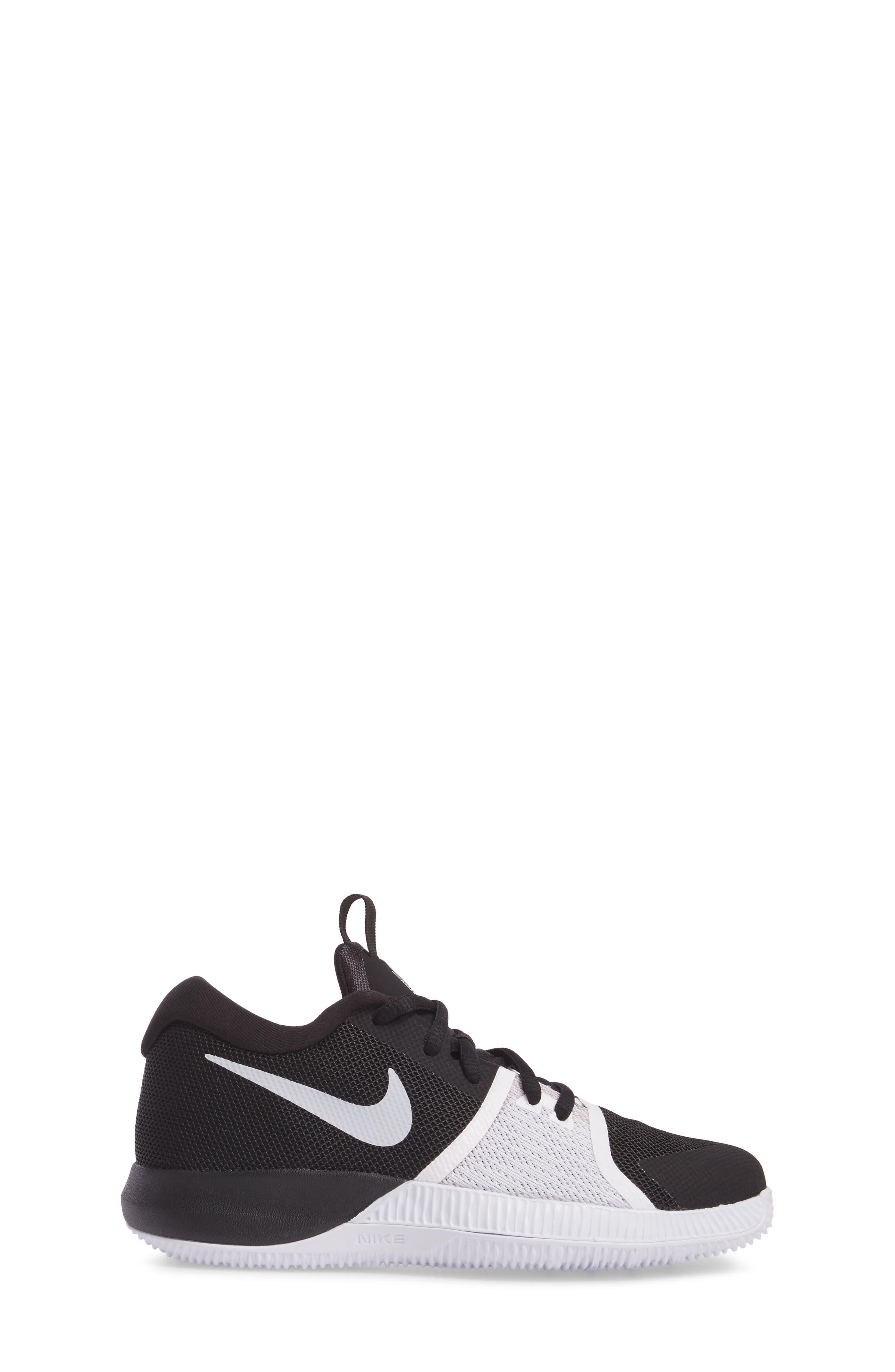 Assersion Sneaker,                             Alternate thumbnail 3, color,                             Black/ White
