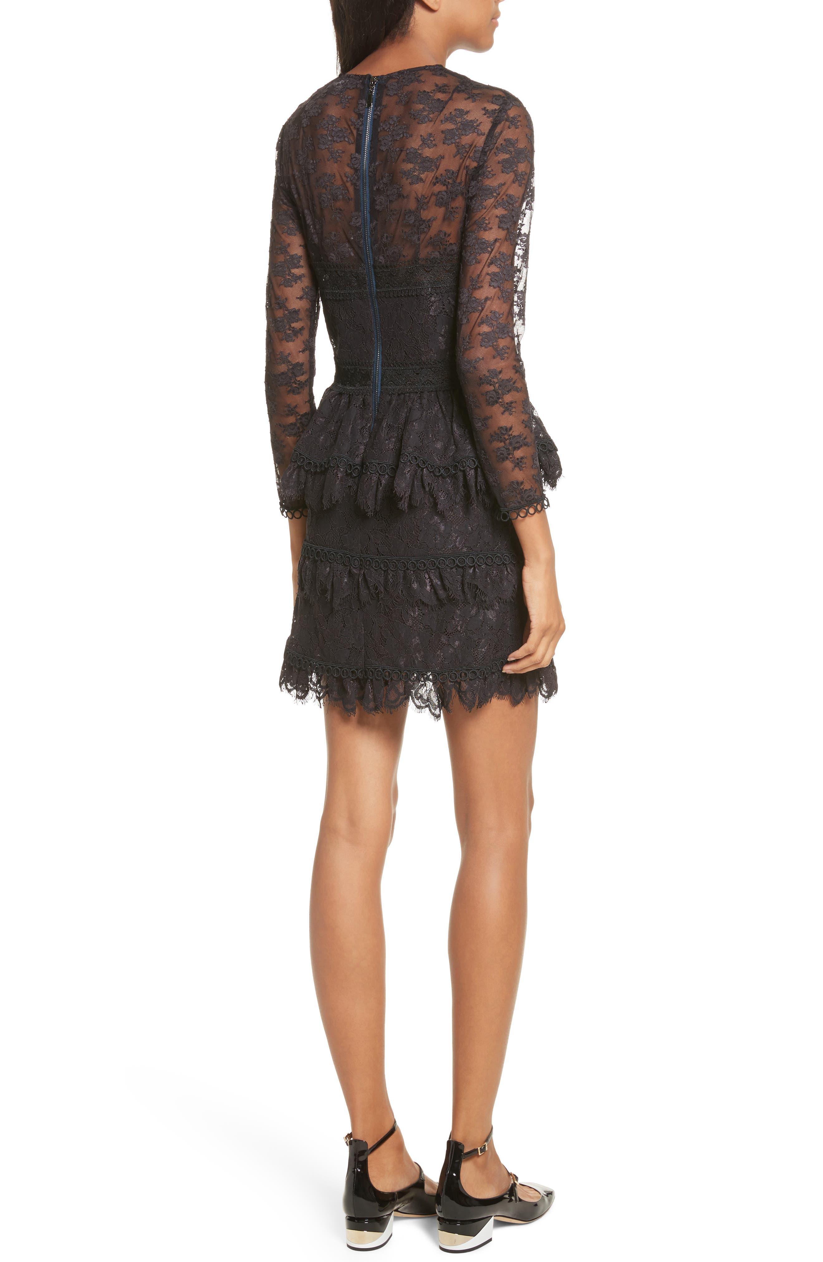 Alternate Image 2  - The Kooples Floral Lace Dress