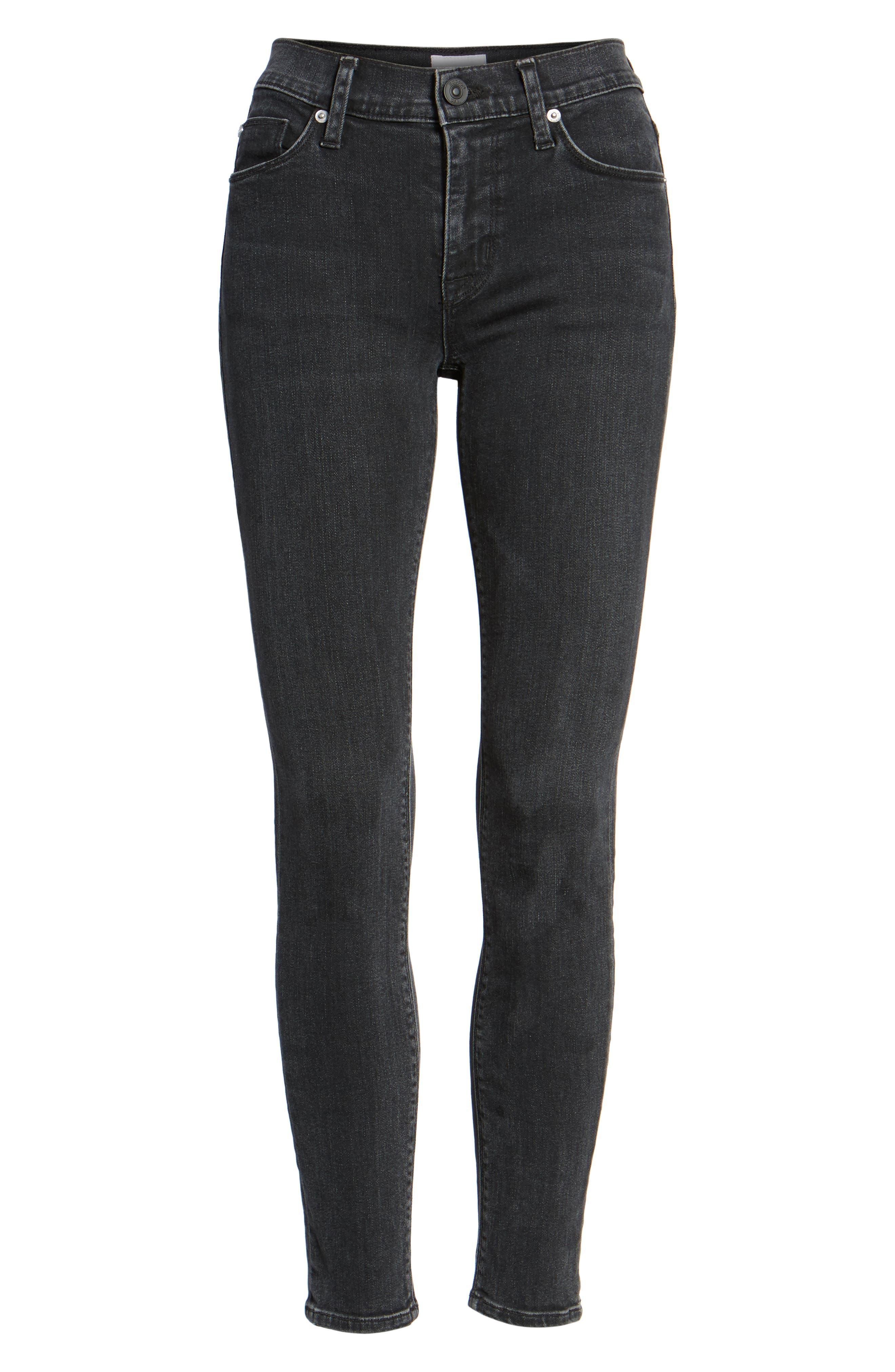 Nico Ankle Skinny Jeans,                             Alternate thumbnail 7, color,                             Omega
