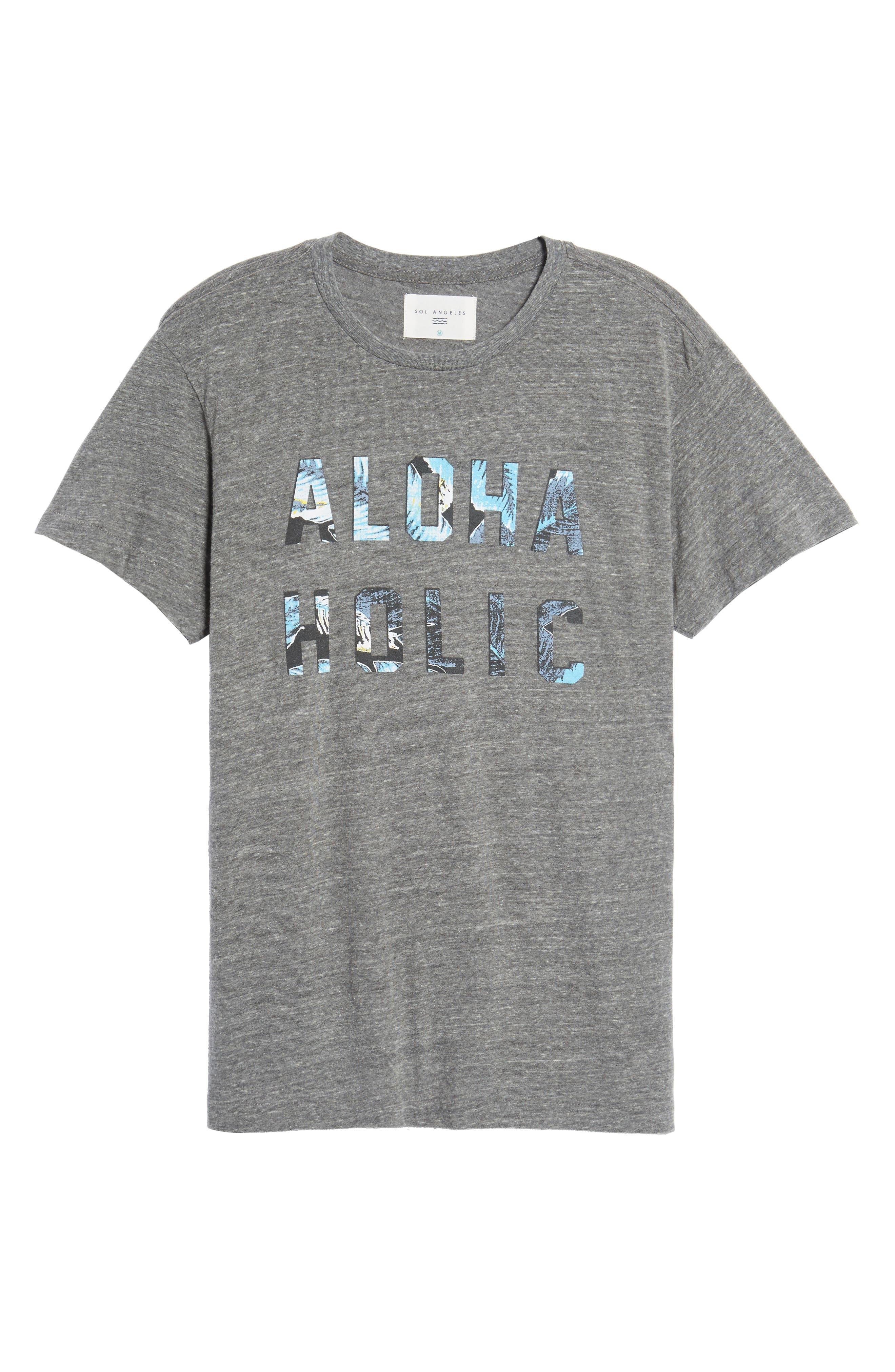 Alternate Image 6  - Sol Angeles Aloha Holic Graphic T-Shirt