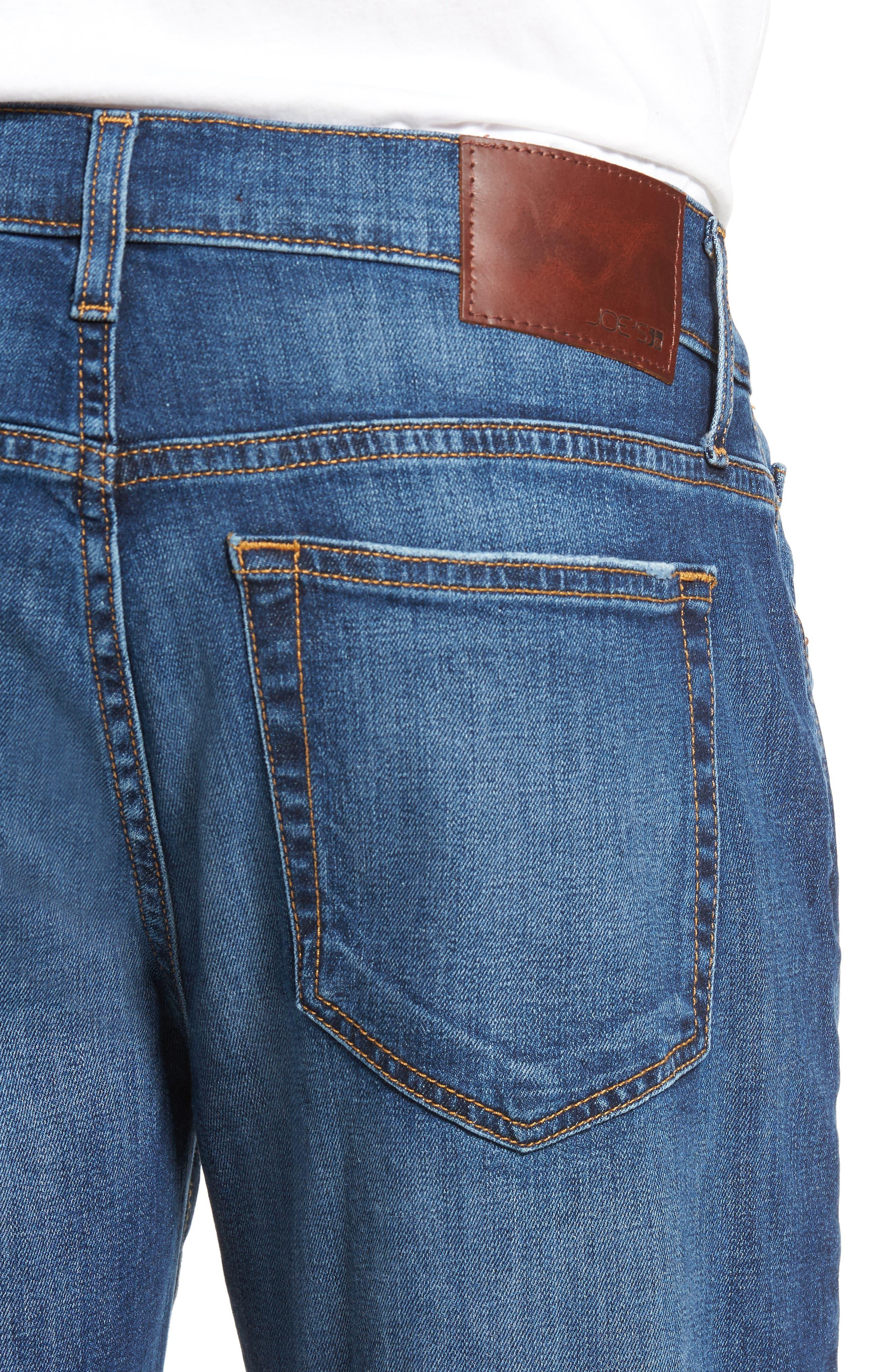 Alternate Image 4  - Joe's Brixton Slim Straight Fit Jeans (Bradlee)