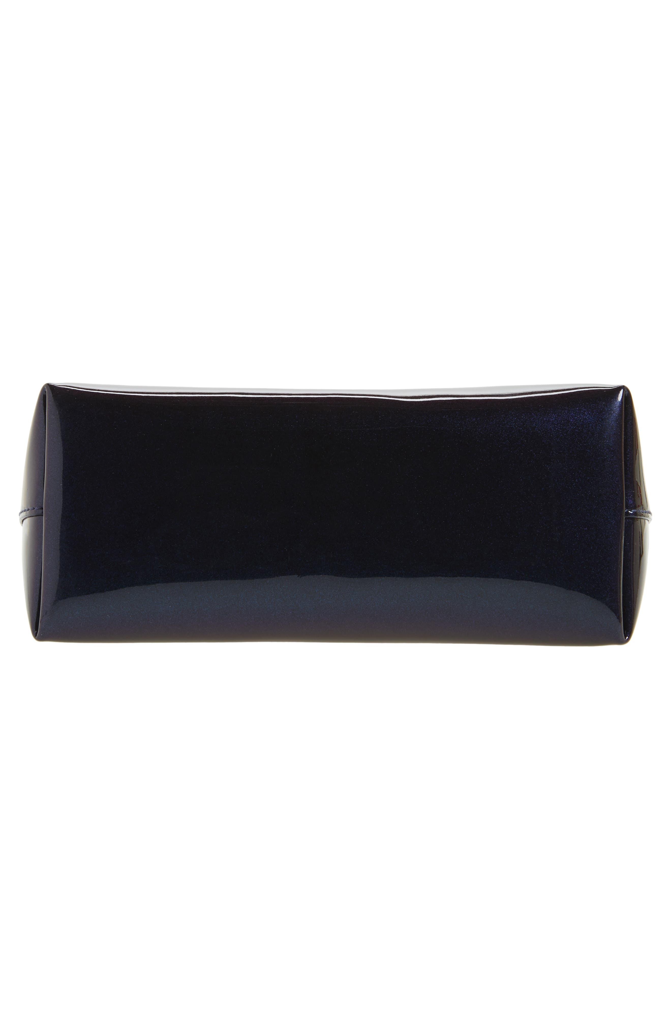 Iridescent Ring Crossbody Bag,                             Alternate thumbnail 7, color,                             Galaxy Navy
