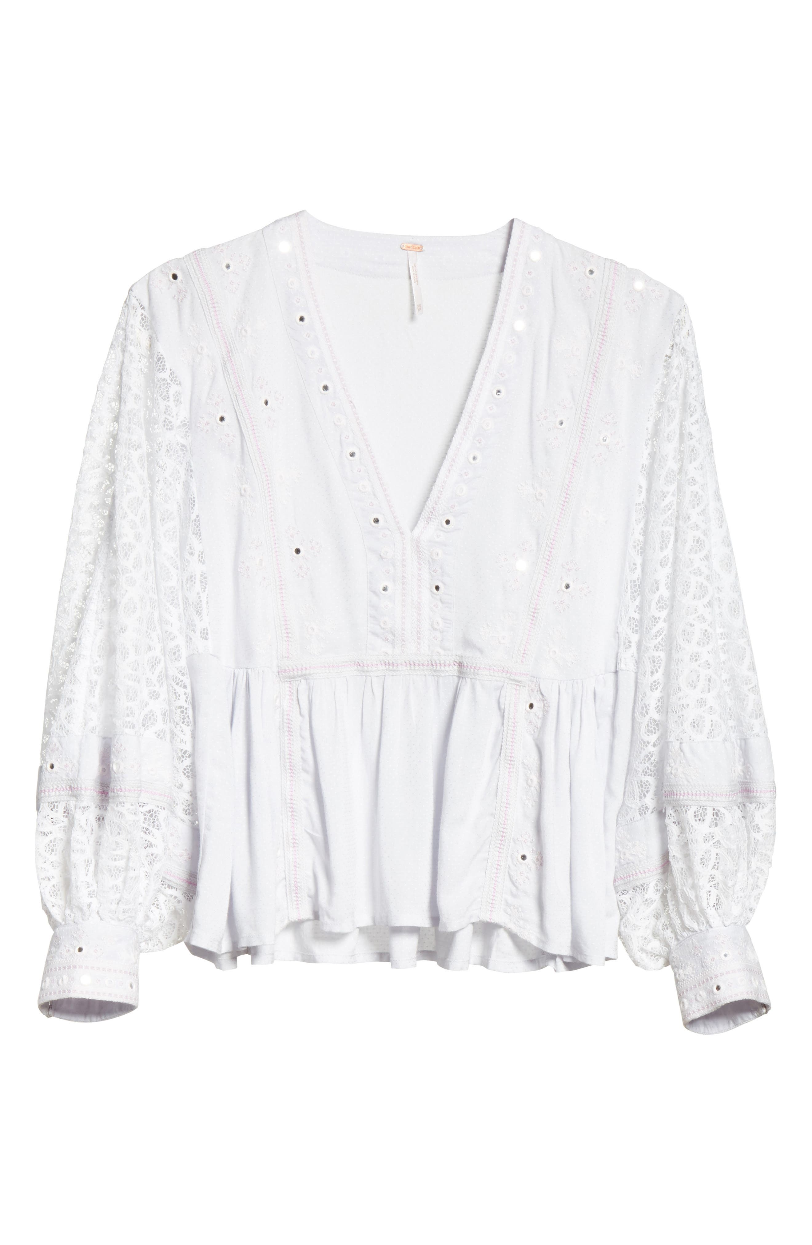 Alternate Image 6  - Free People Boogie All Night Blouse