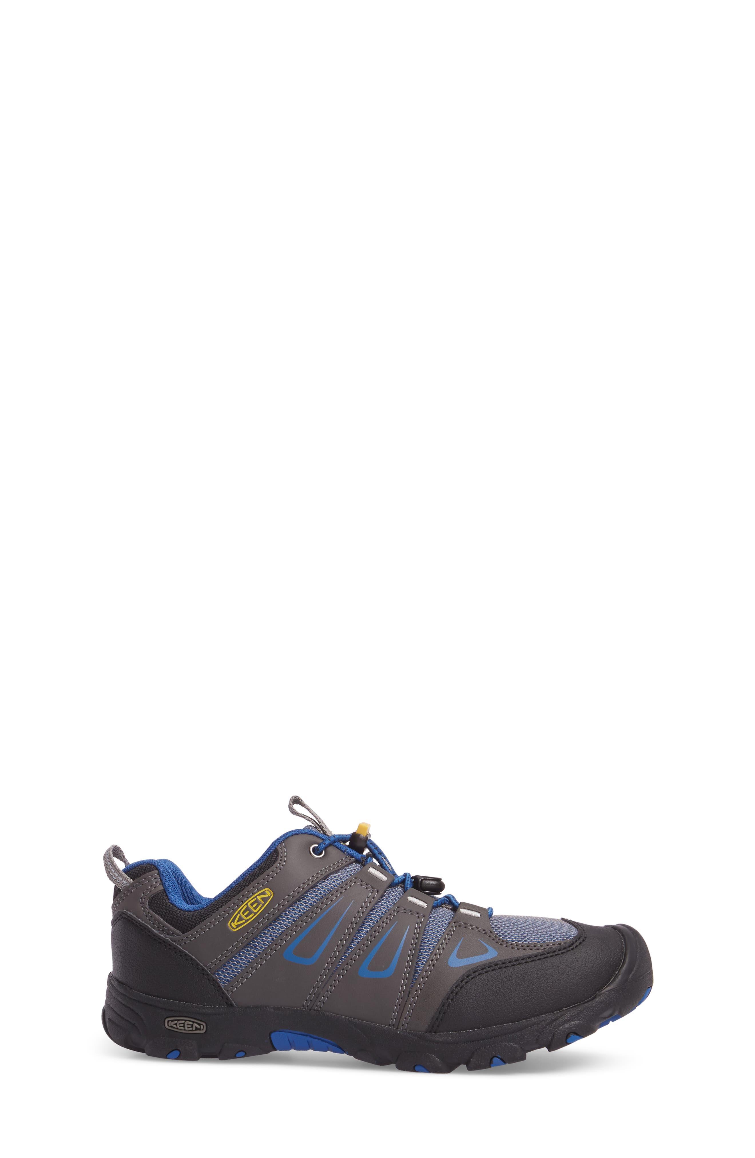 Oakridge Hiking Shoe,                             Alternate thumbnail 4, color,                             Magnet/ True Blue