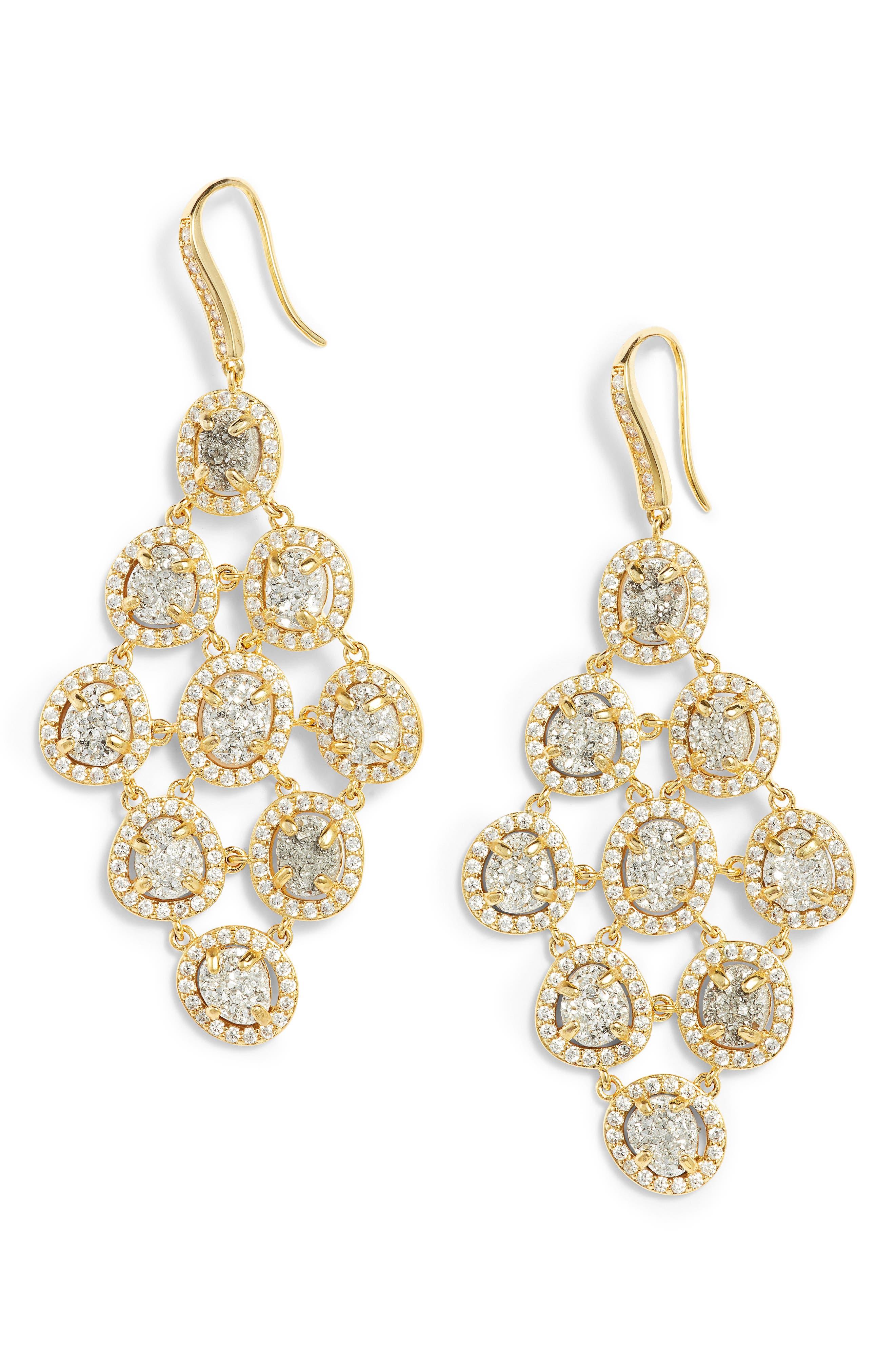 Melinda Maria Natalie Chandelier Earrings