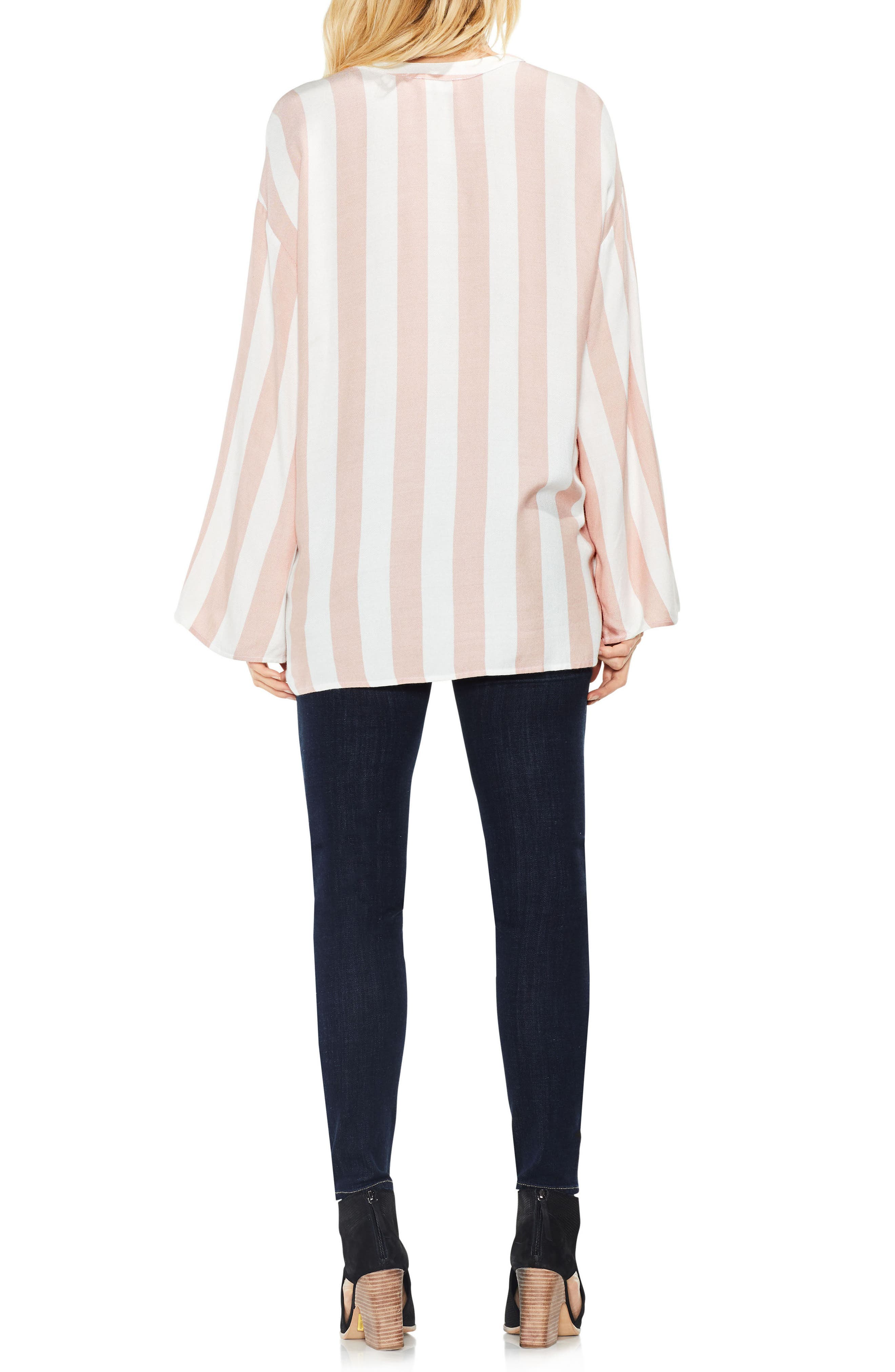 Alternate Image 2  - Two by Vince Camuto Bell Sleeve Top