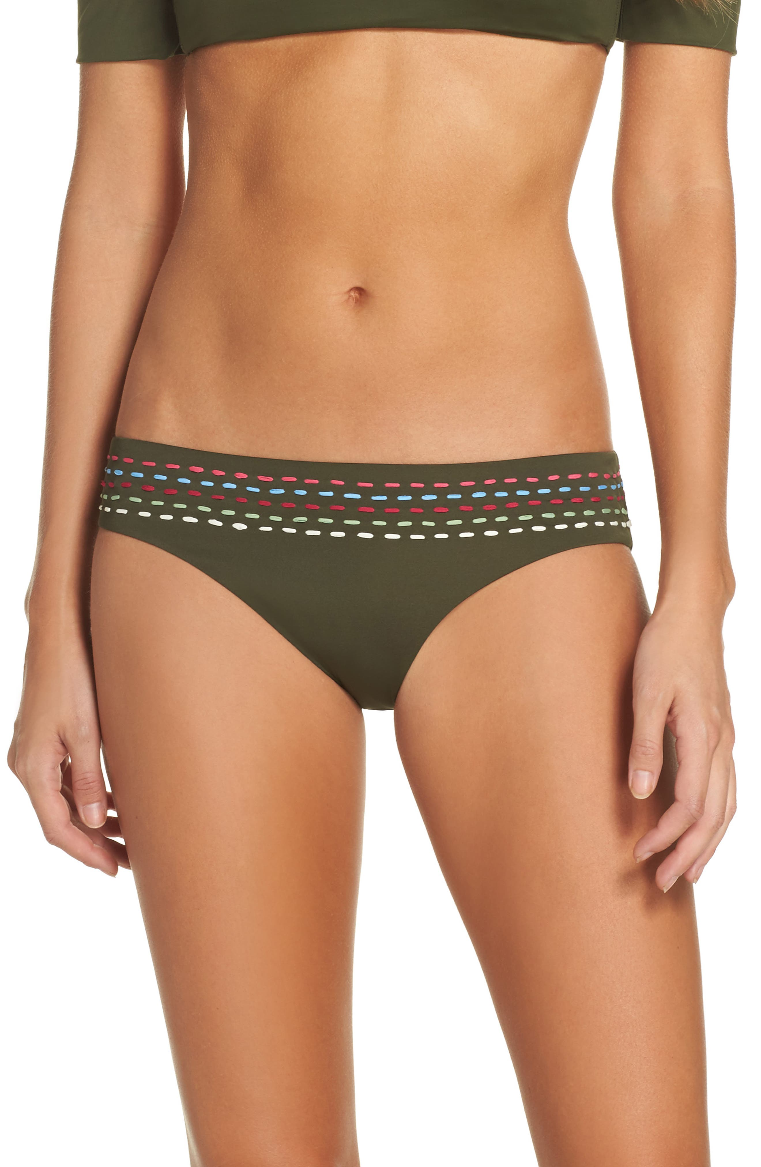 Quest American Bikini Bottoms,                         Main,                         color, Bay Leaf