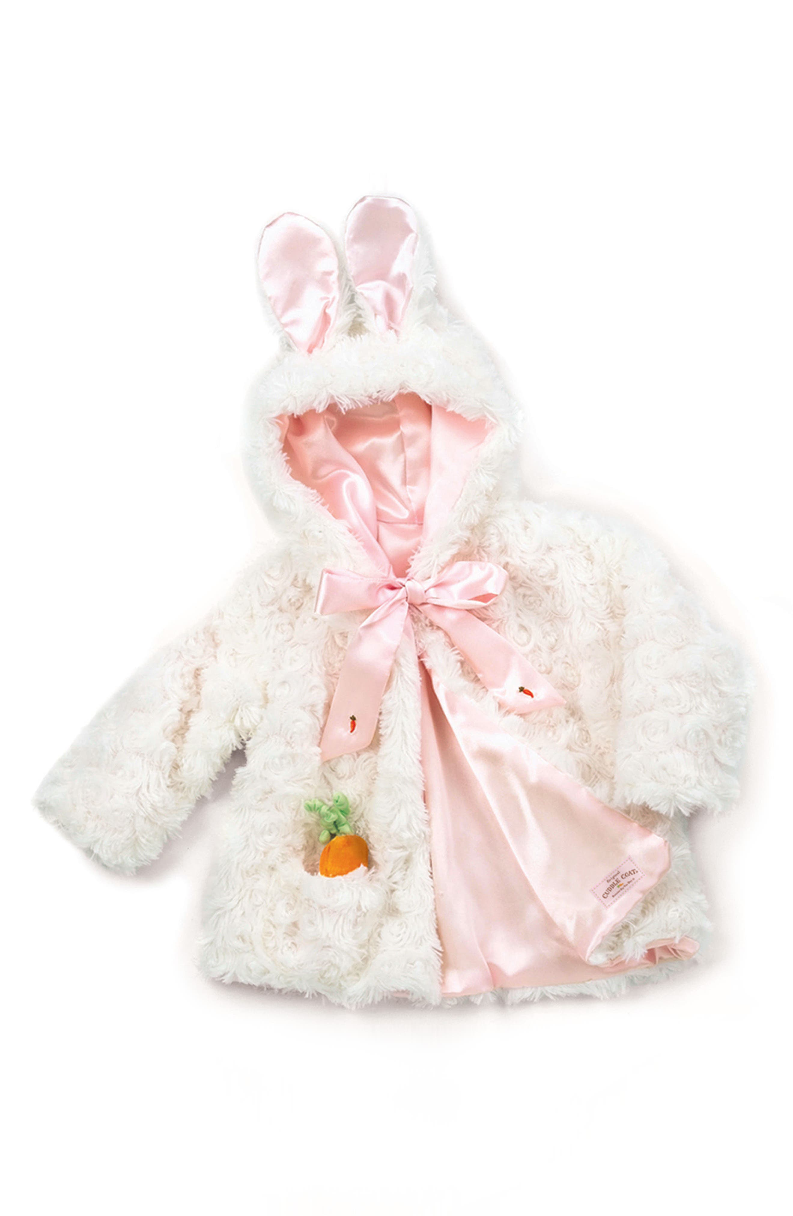 Main Image - Bunnies By The Bay Cuddle Coat (Baby)
