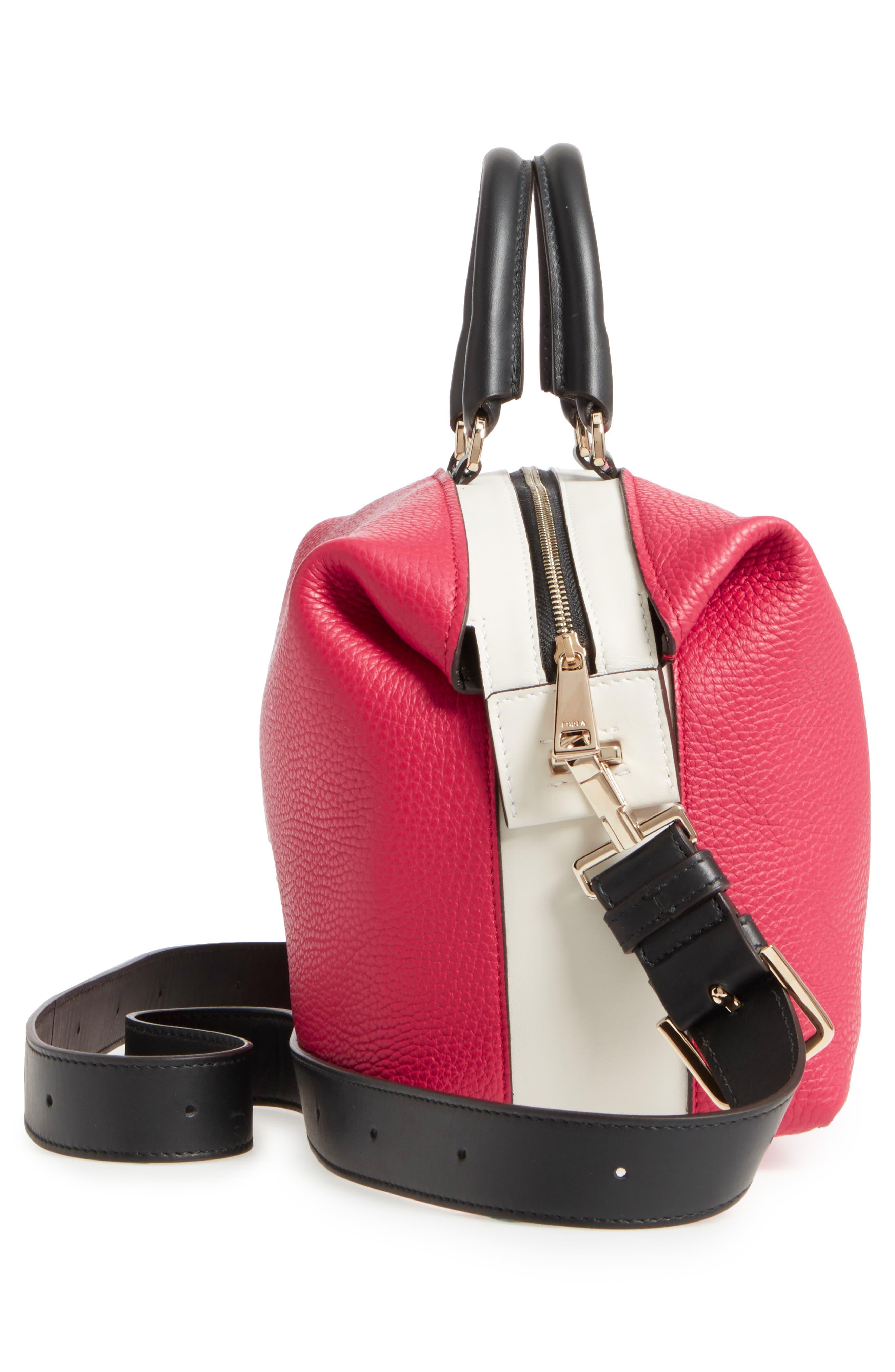 Alternate Image 5  - Furla Blogger Colorblock Leather Satchel