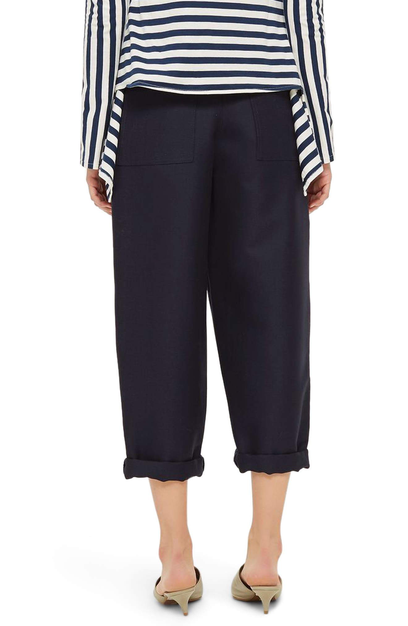 Alternate Image 2  - Topshop Boutique Nords Mensy Trousers