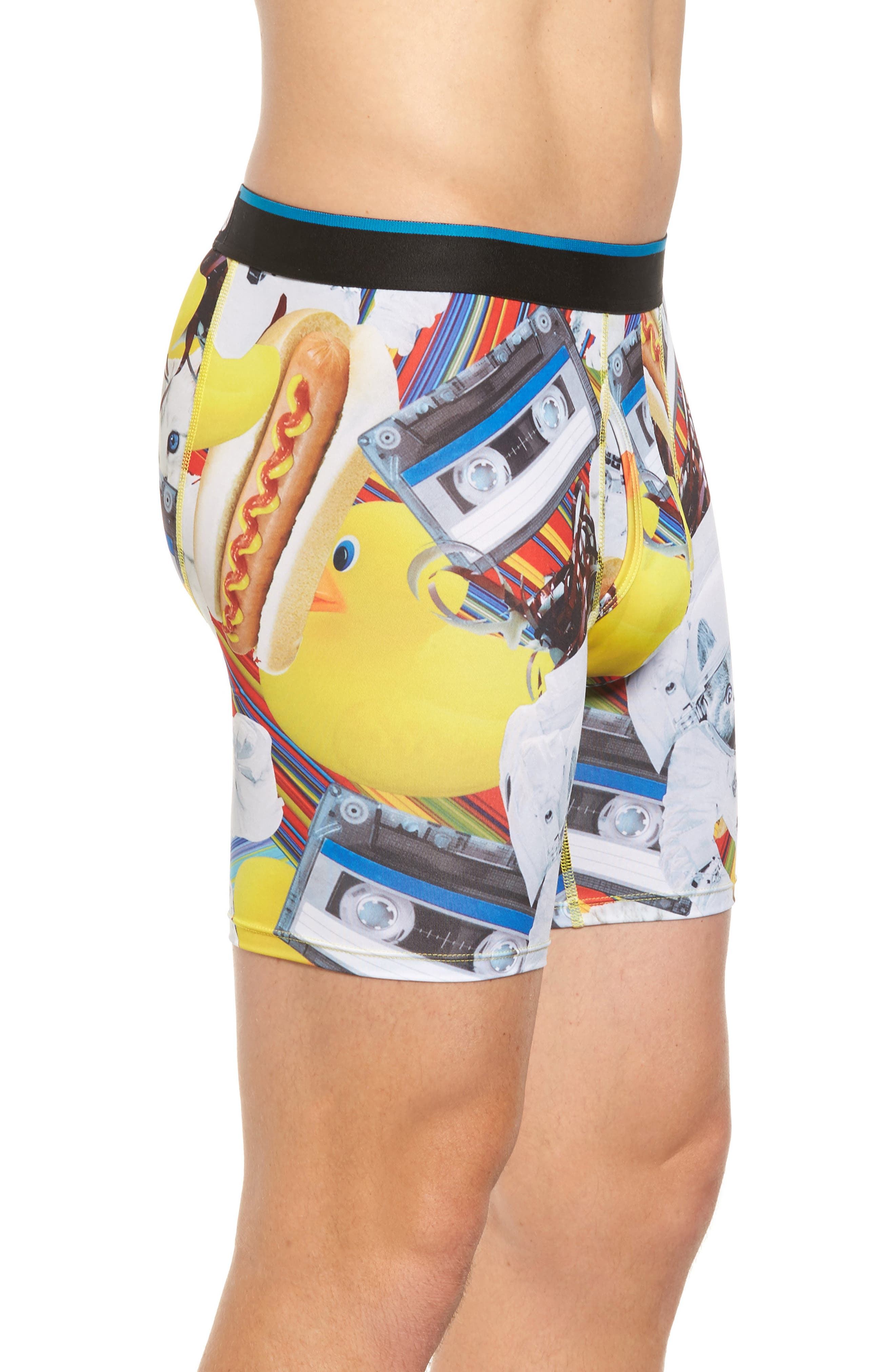 Castronaut Boxer Briefs,                             Alternate thumbnail 3, color,                             Yellow Multi