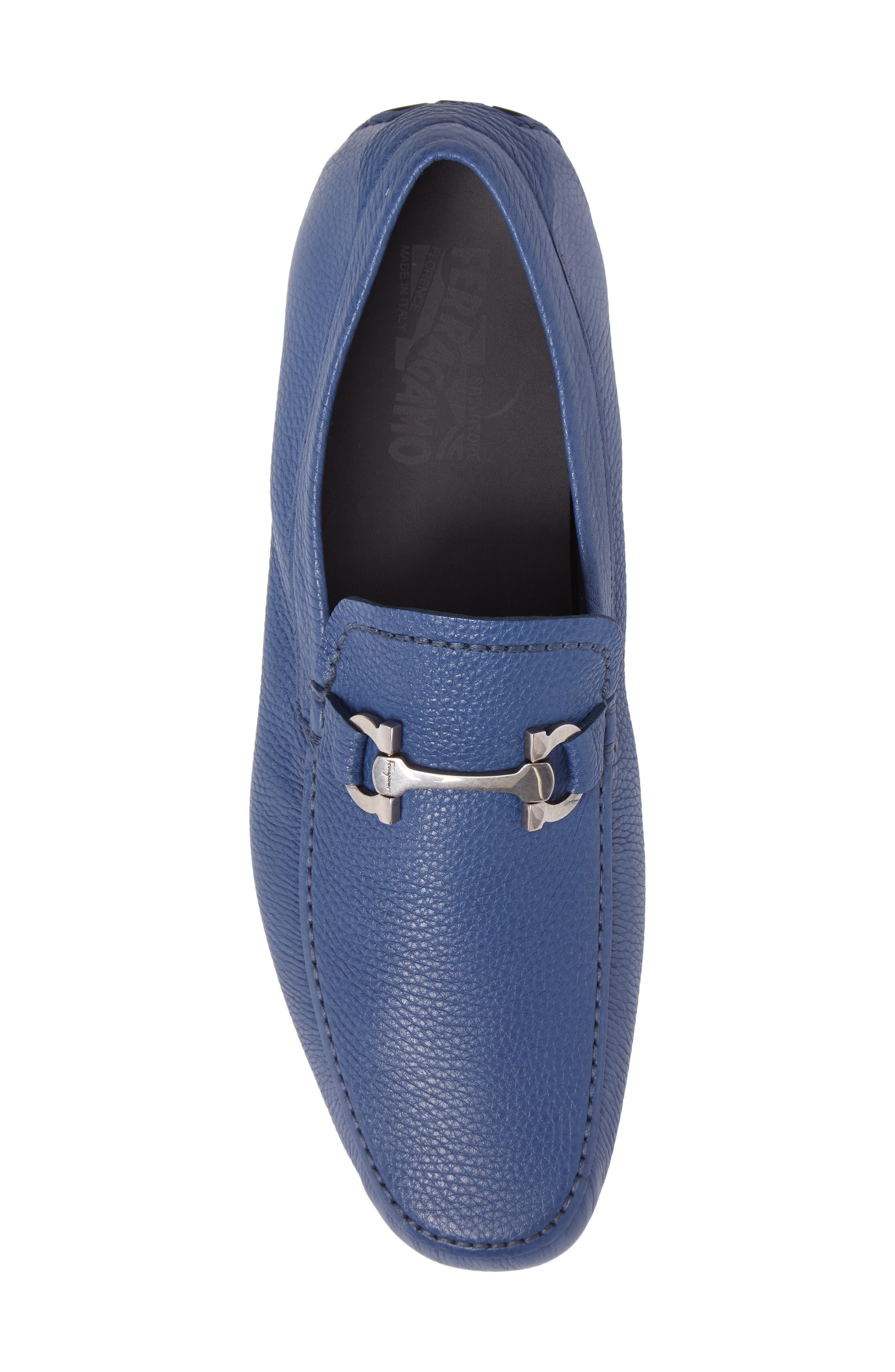Cancun 2 Driving Shoe,                             Alternate thumbnail 5, color,                             Fjord Blue