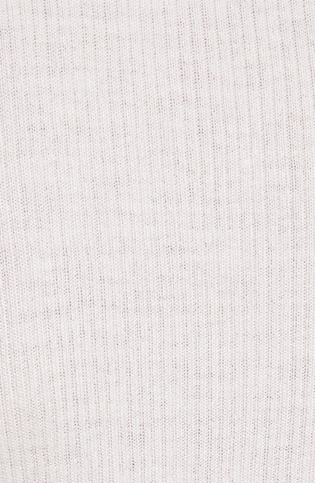 Alternate Image 5  - Ted Baker London Nehru Bow Skinny Rib Knit Sweater