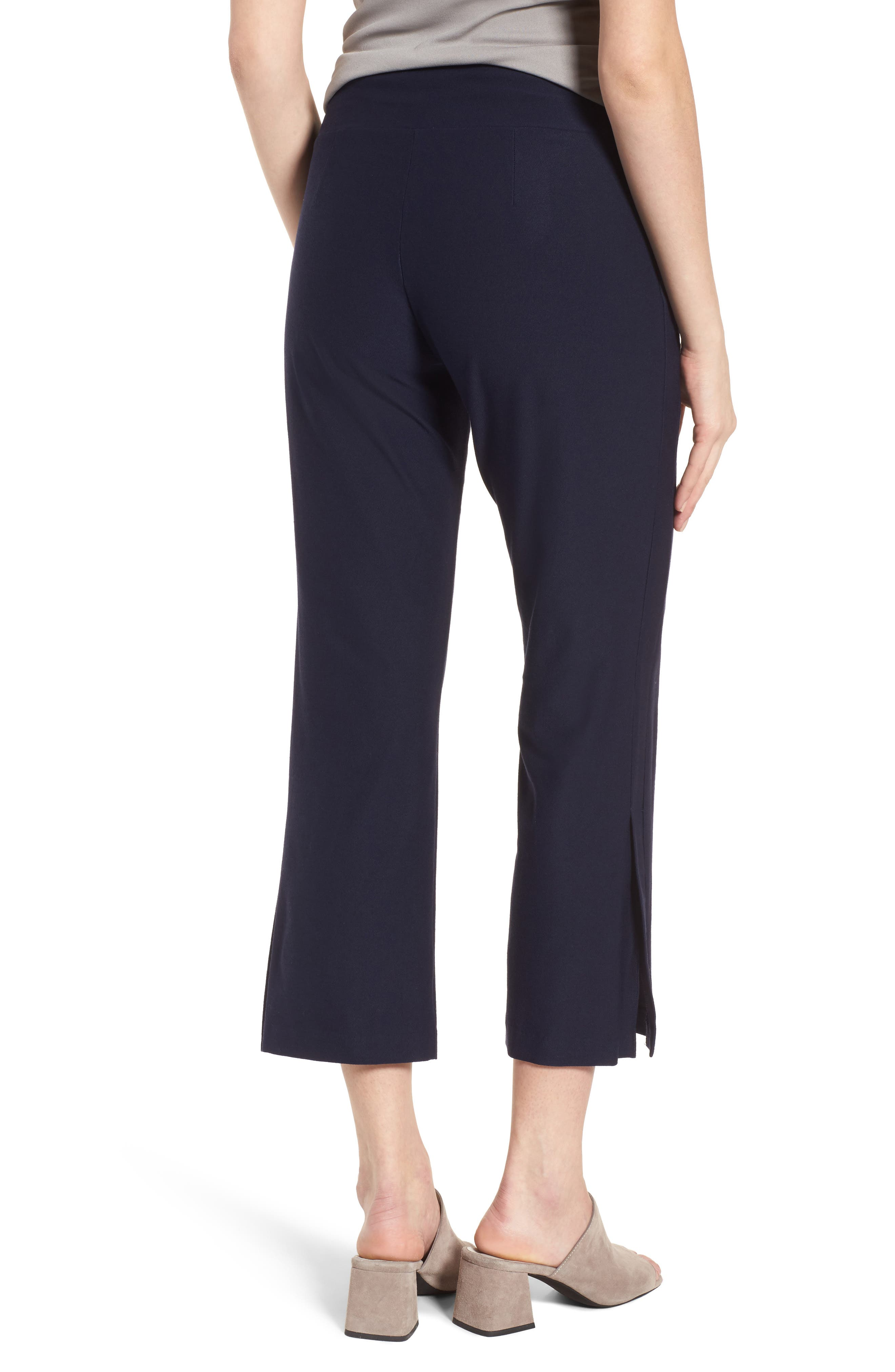 Bootcut Crop Pants,                             Alternate thumbnail 2, color,                             Midnight