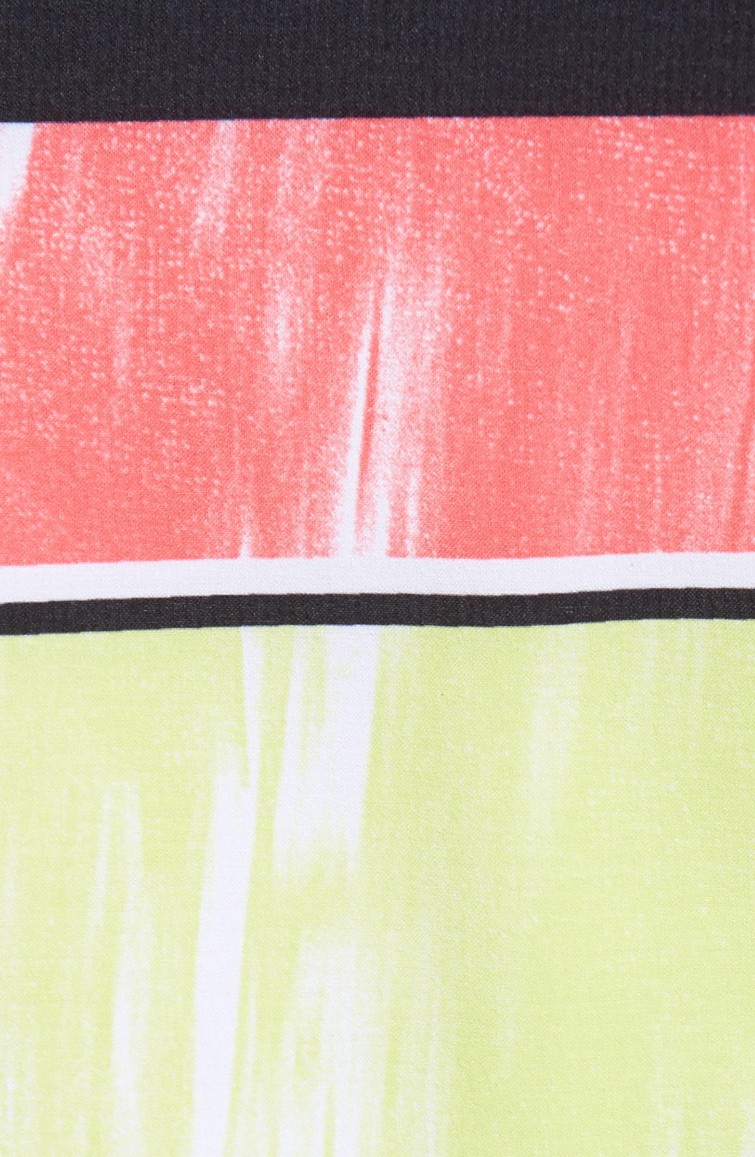 Makua Bolt Board Shorts,                             Alternate thumbnail 5, color,                             Yellow Fade