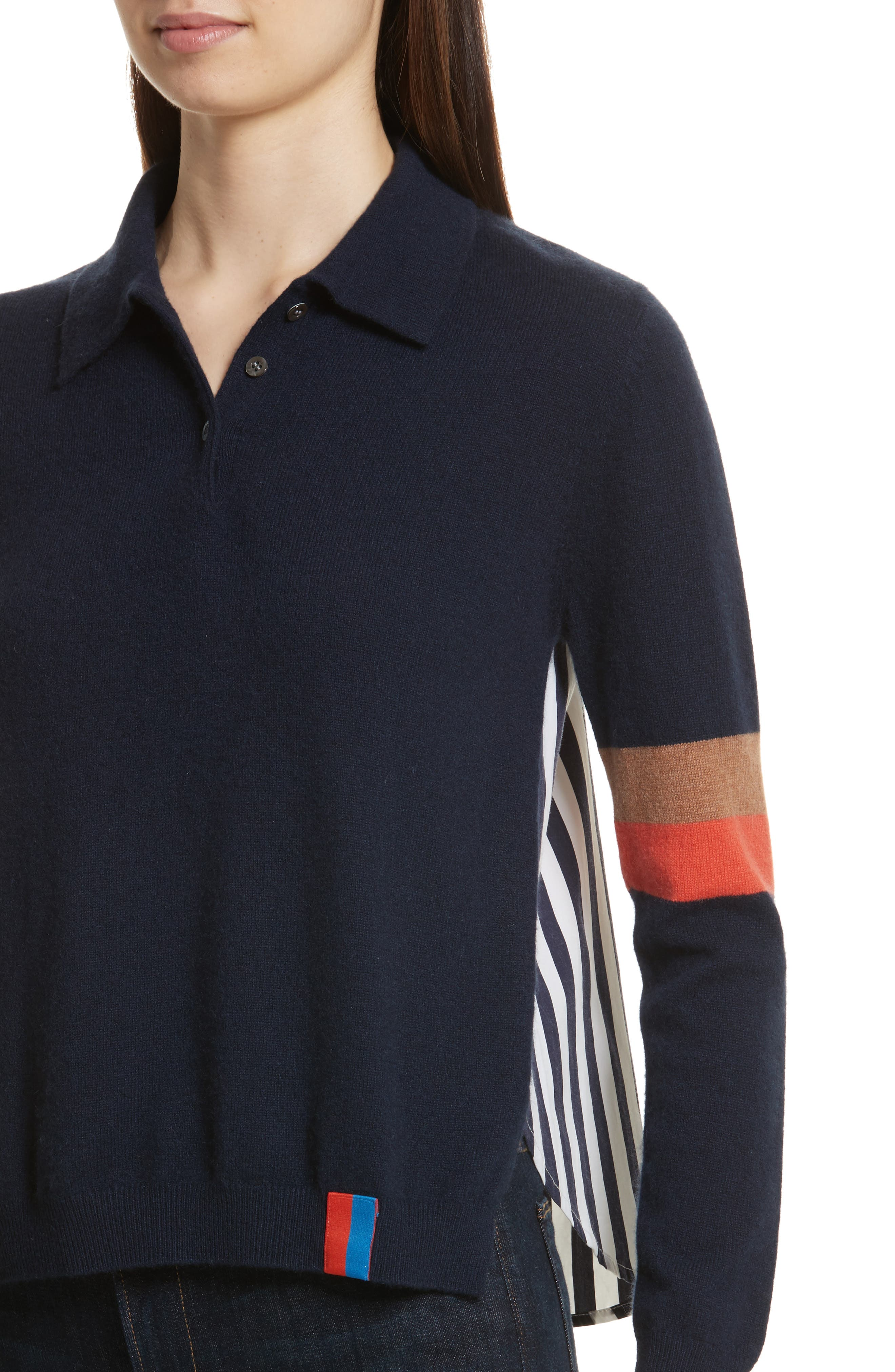 The Purdy Combo Top,                             Alternate thumbnail 4, color,                             Navy