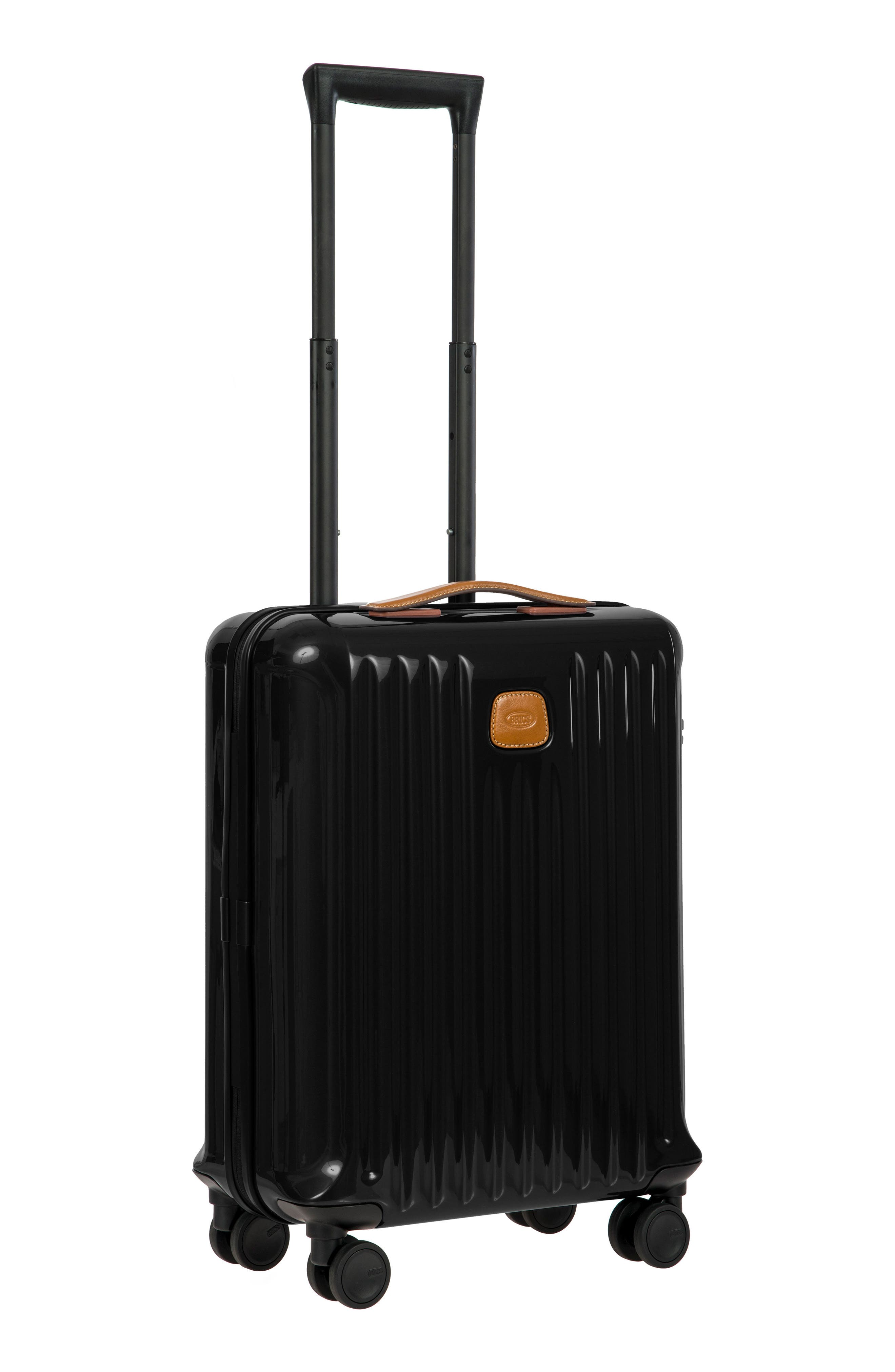 Capri 21-Inch Spinner Carry-On,                             Alternate thumbnail 9, color,                             Black