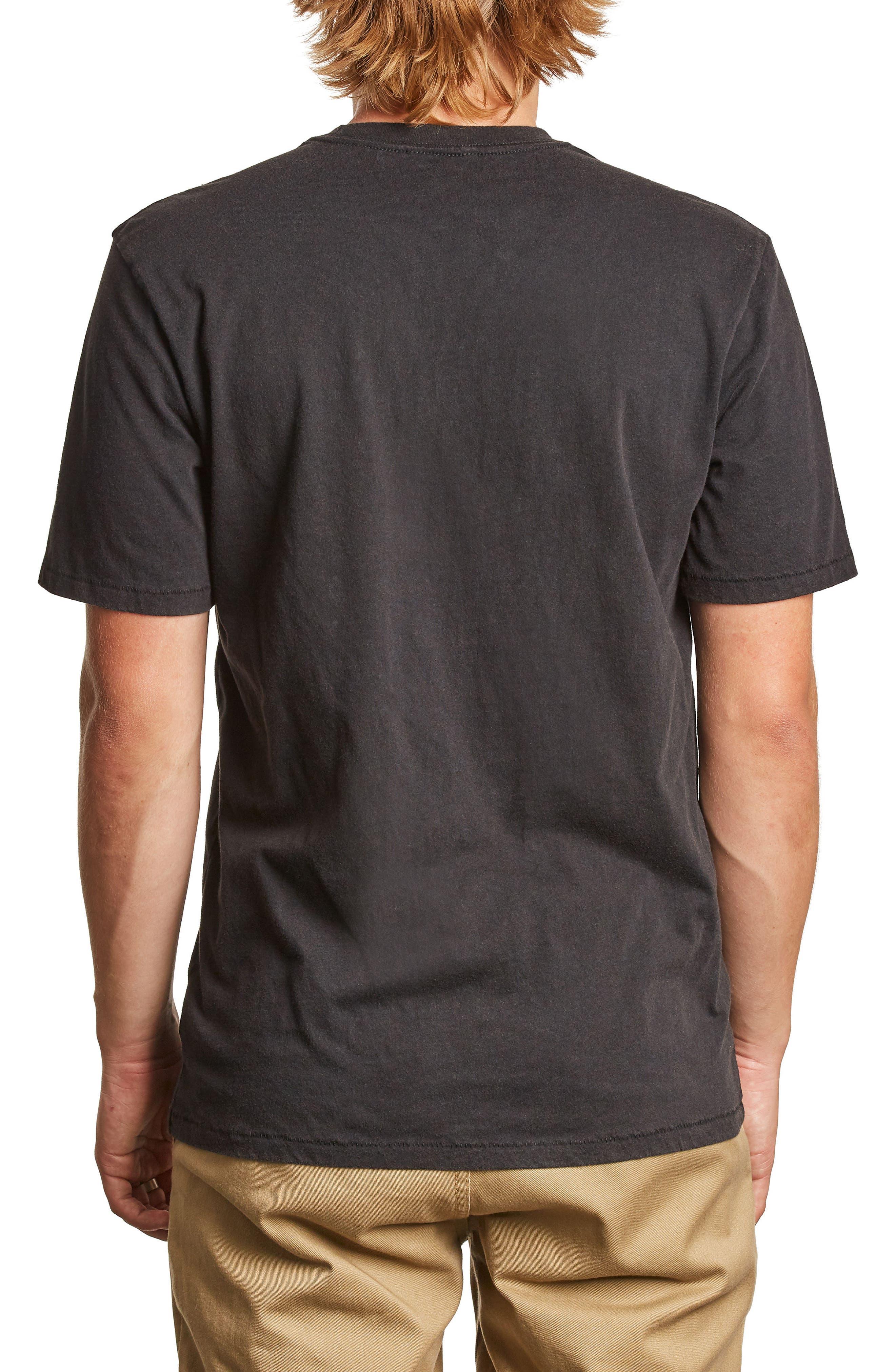 x Coors Filtered Pocket T-Shirt,                             Alternate thumbnail 2, color,                             Washed Black
