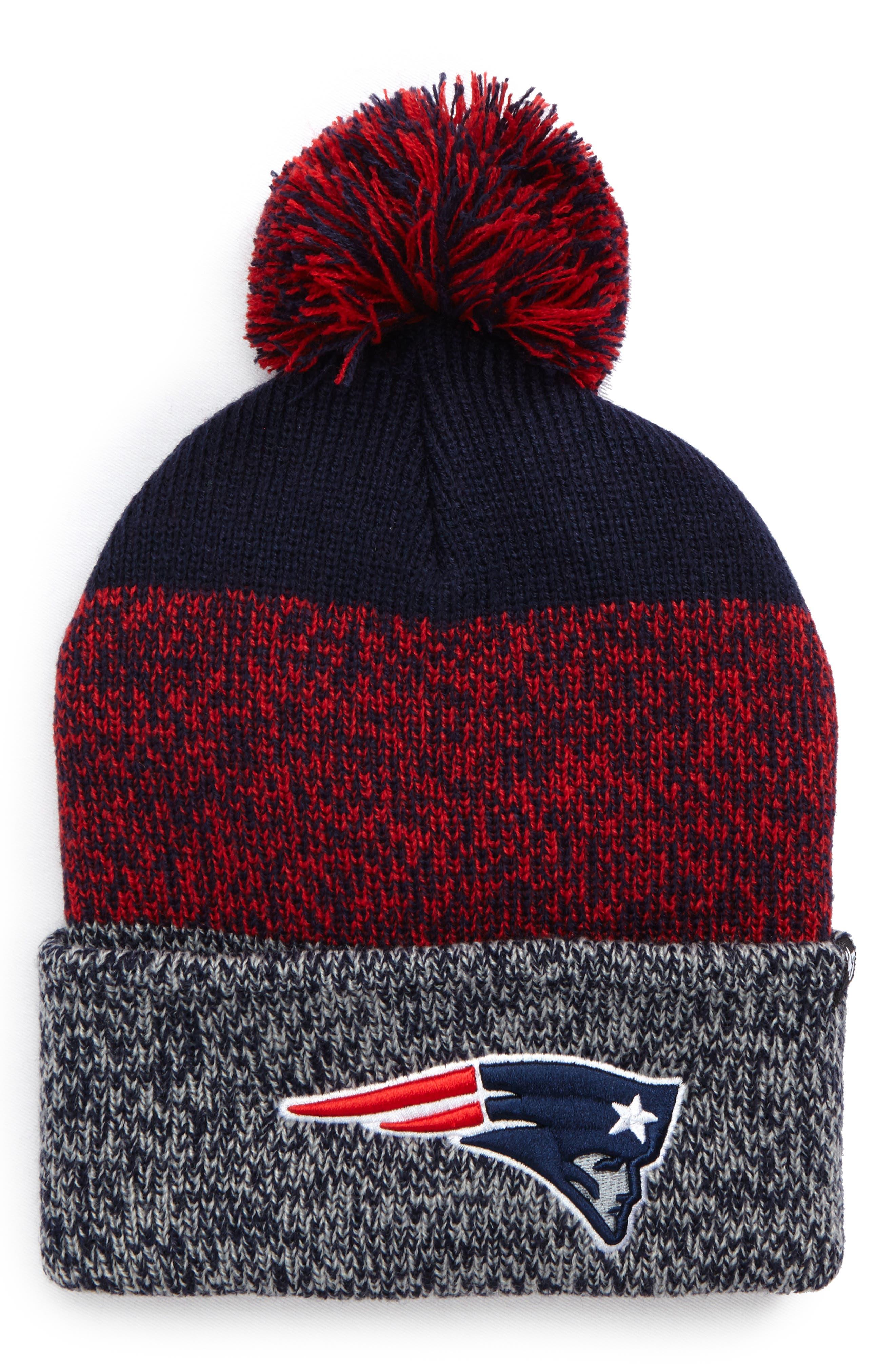 '47 New England Patriots Static Cuff Knit Beanie