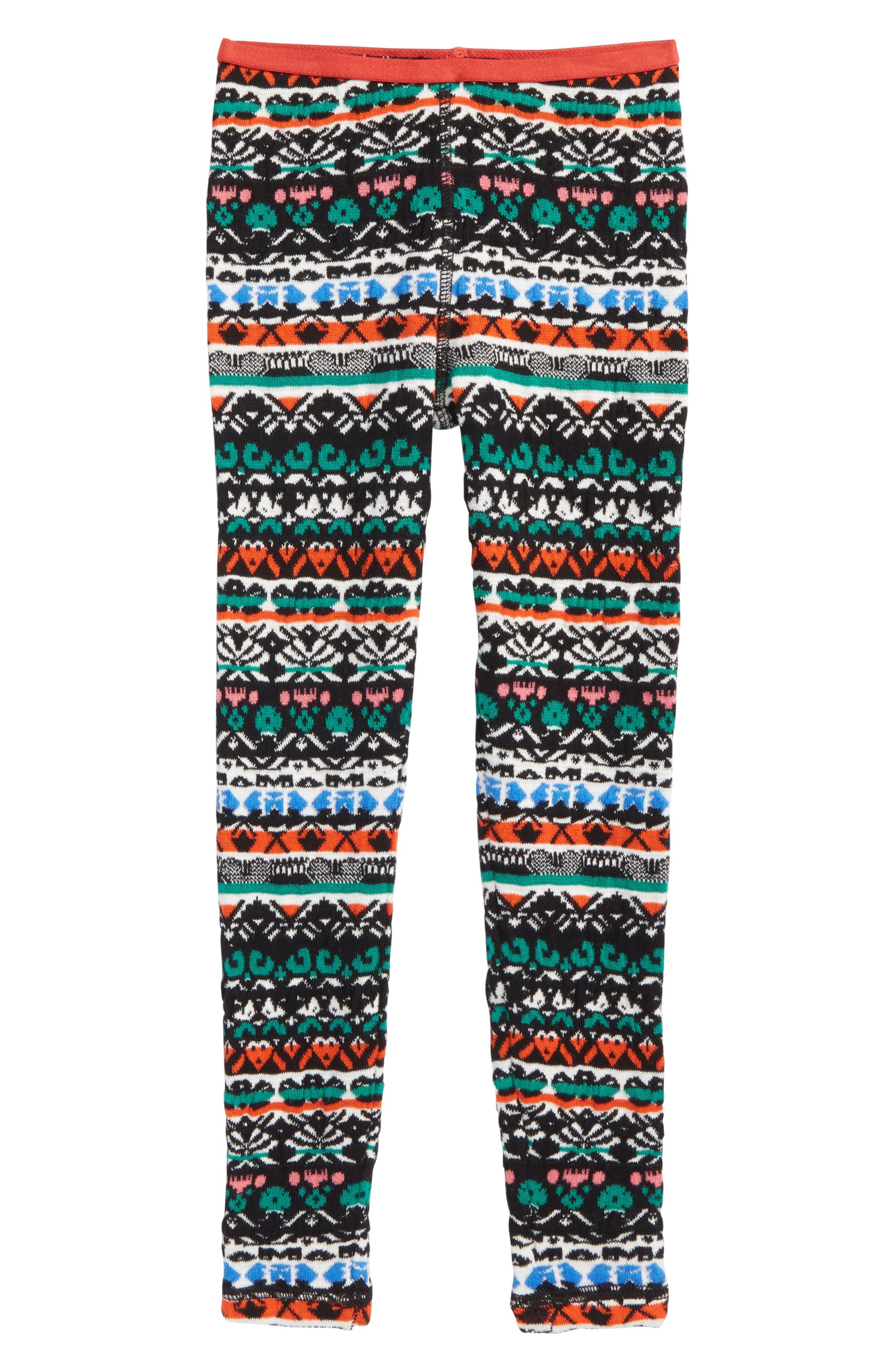 Alternate Image 1 Selected - Tucker + Tate Pattern Knit Leggings (Toddler Girls, Little Girls & Big Girls)