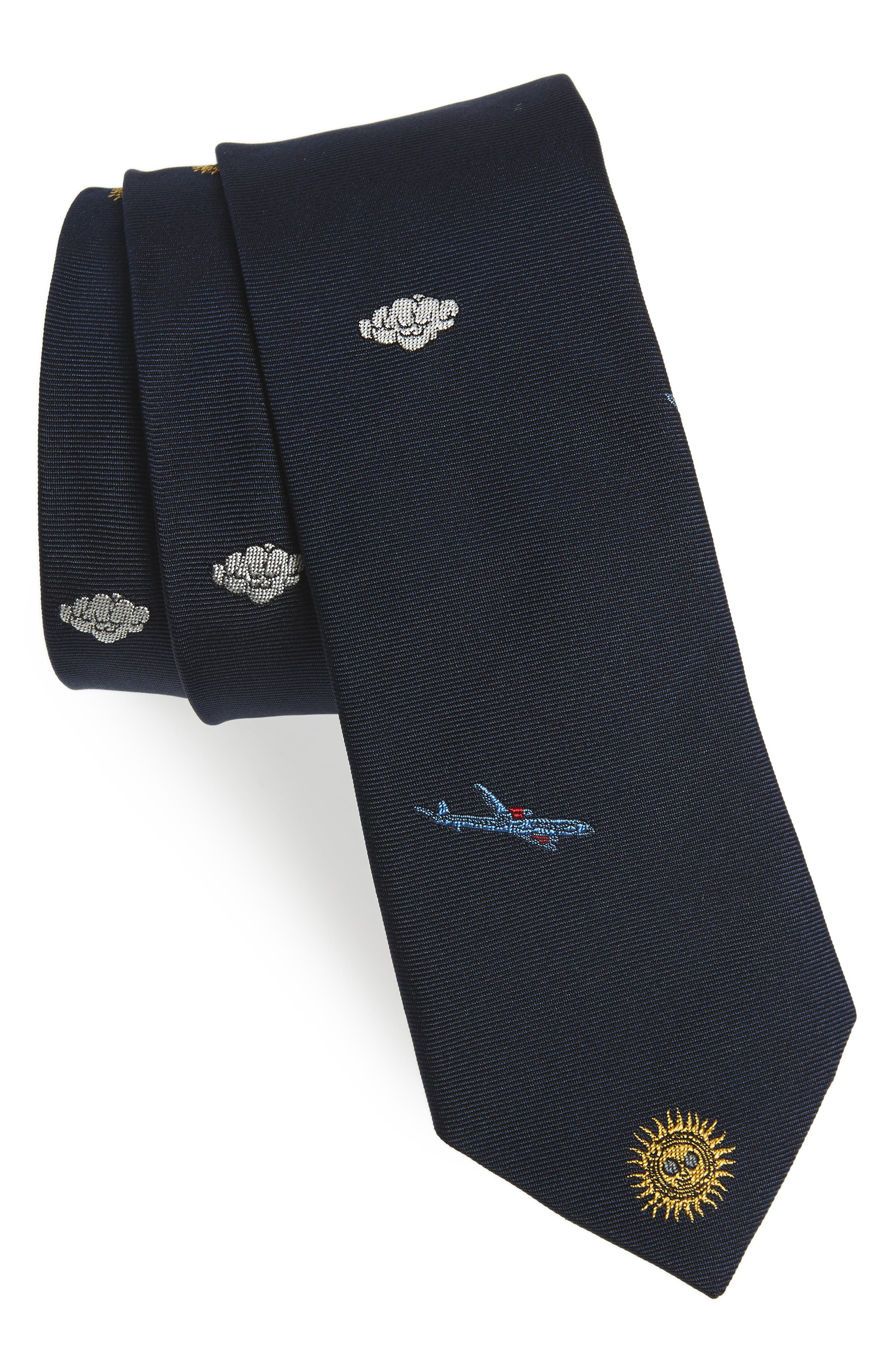 Paul Smith Sky Silk Skinny Tie