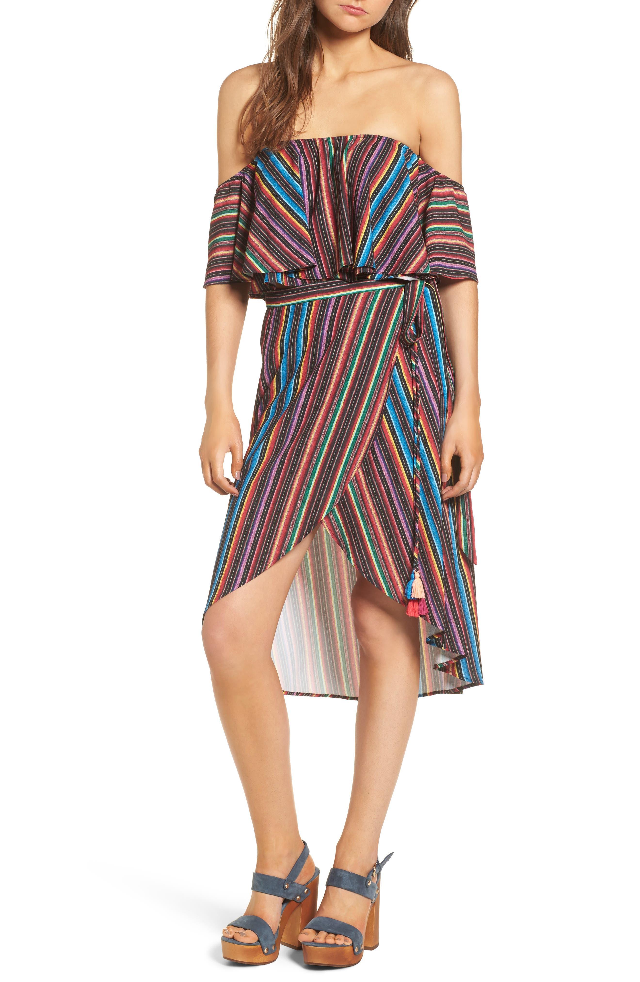 Alternate Image 2  - Show Me Your Mumu Panama Tassel Wrap Skirt