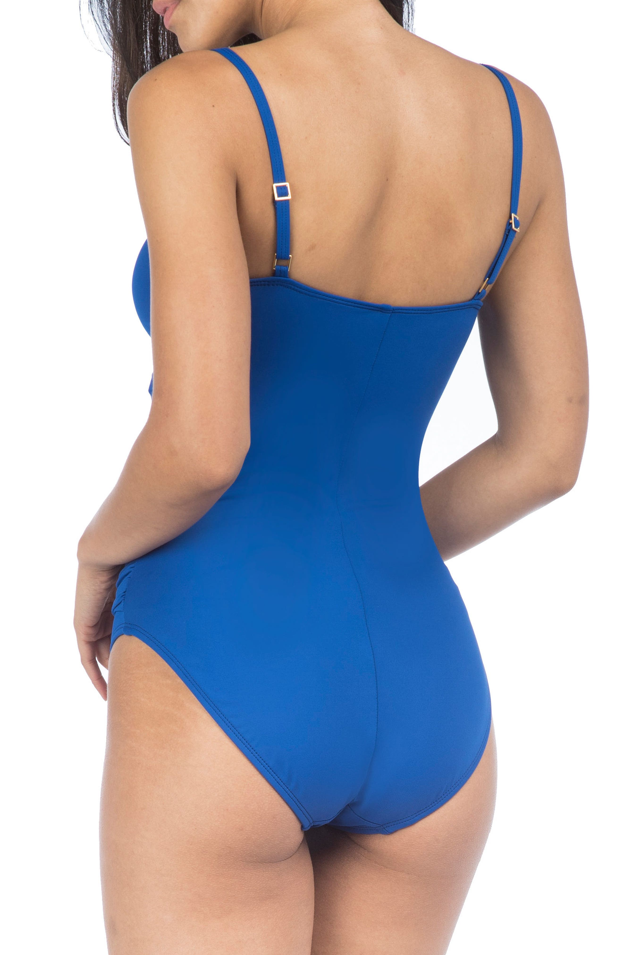 Alternate Image 2  - La Blanca 'Island Goddess' One-Piece Swimsuit