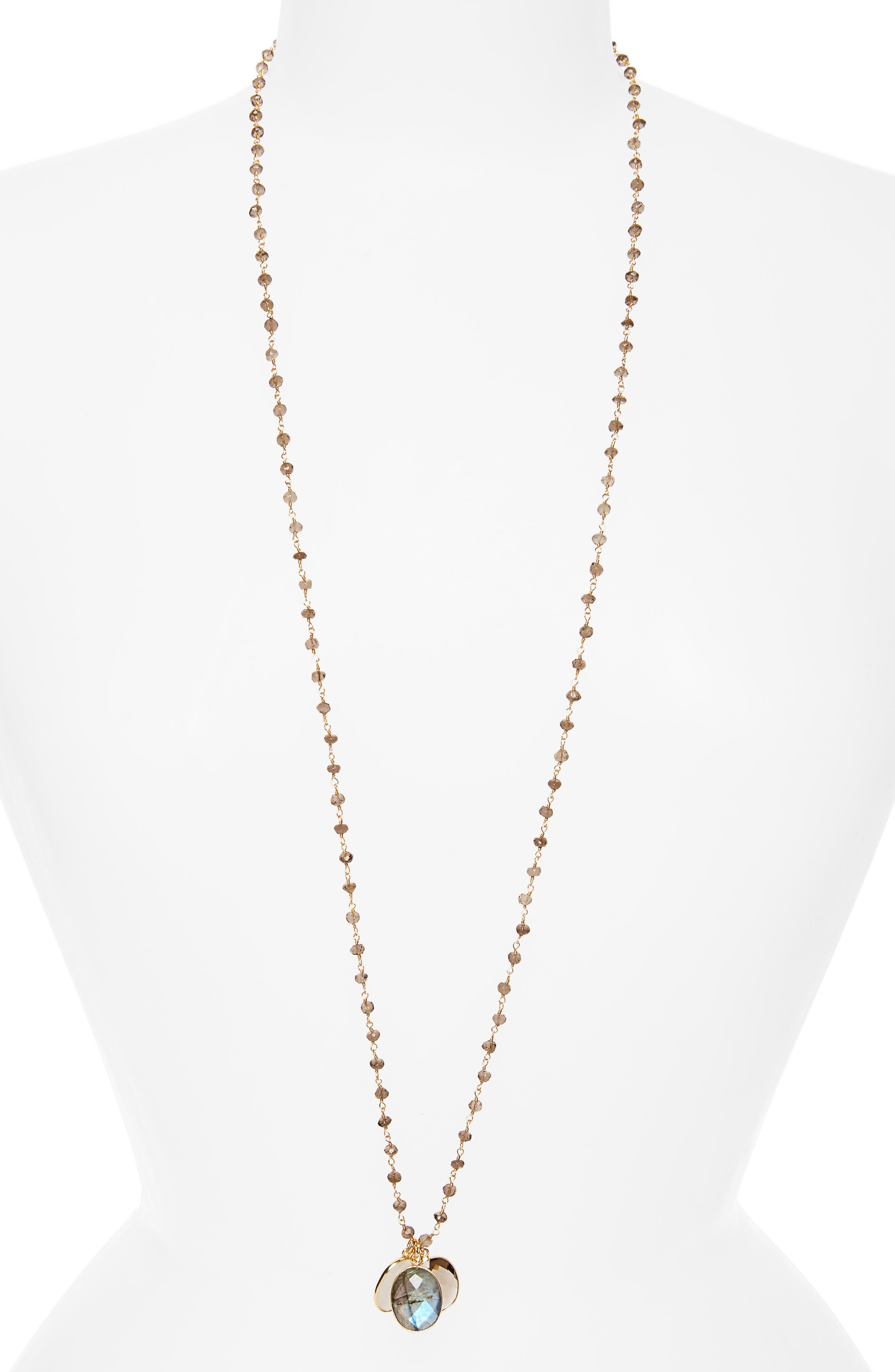 Alternate Image 1 Selected - Jemma Sands Grenada Long Pendant Necklace