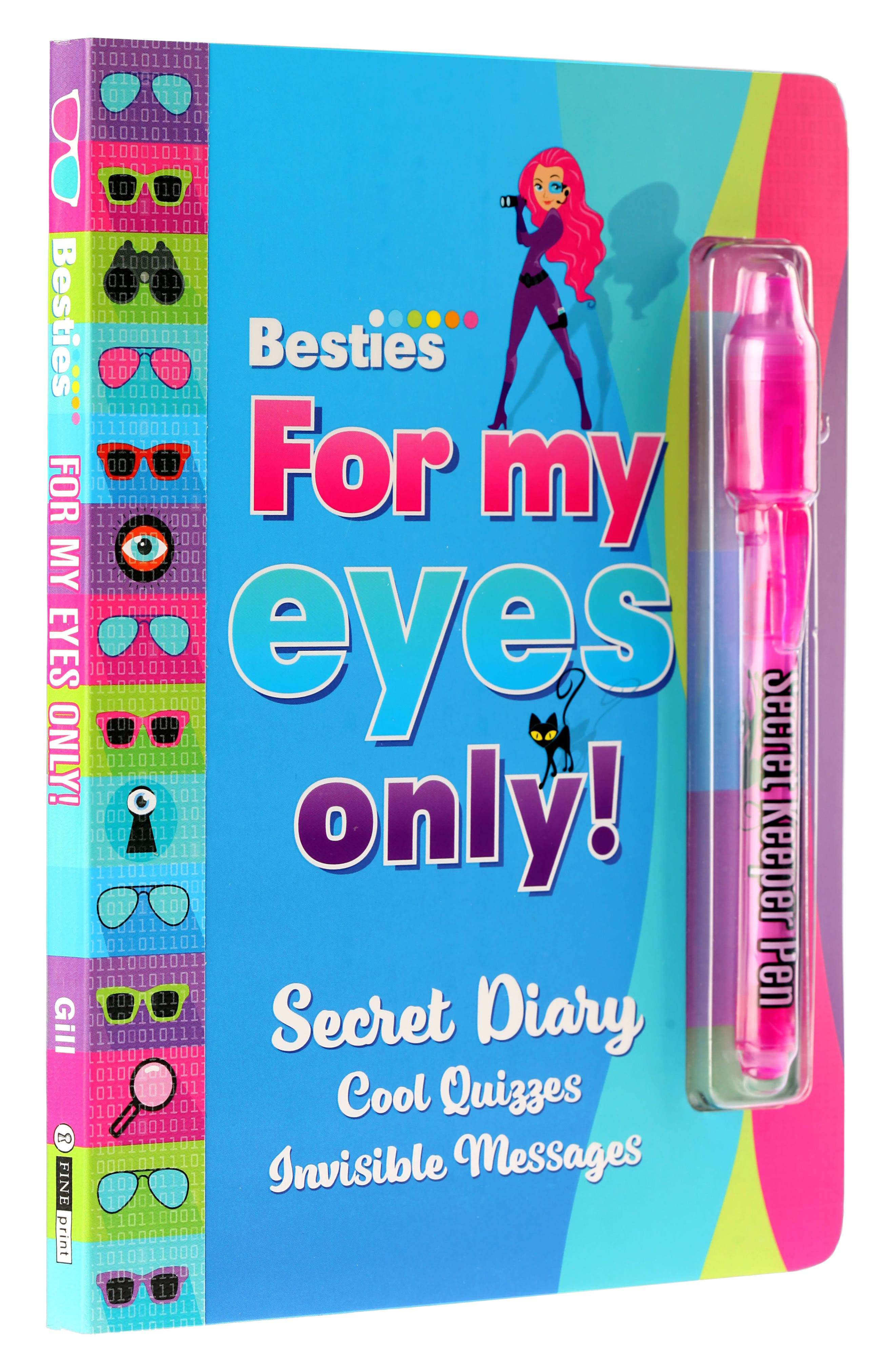 Fine Print Besties For My Eyes Only Activity Book