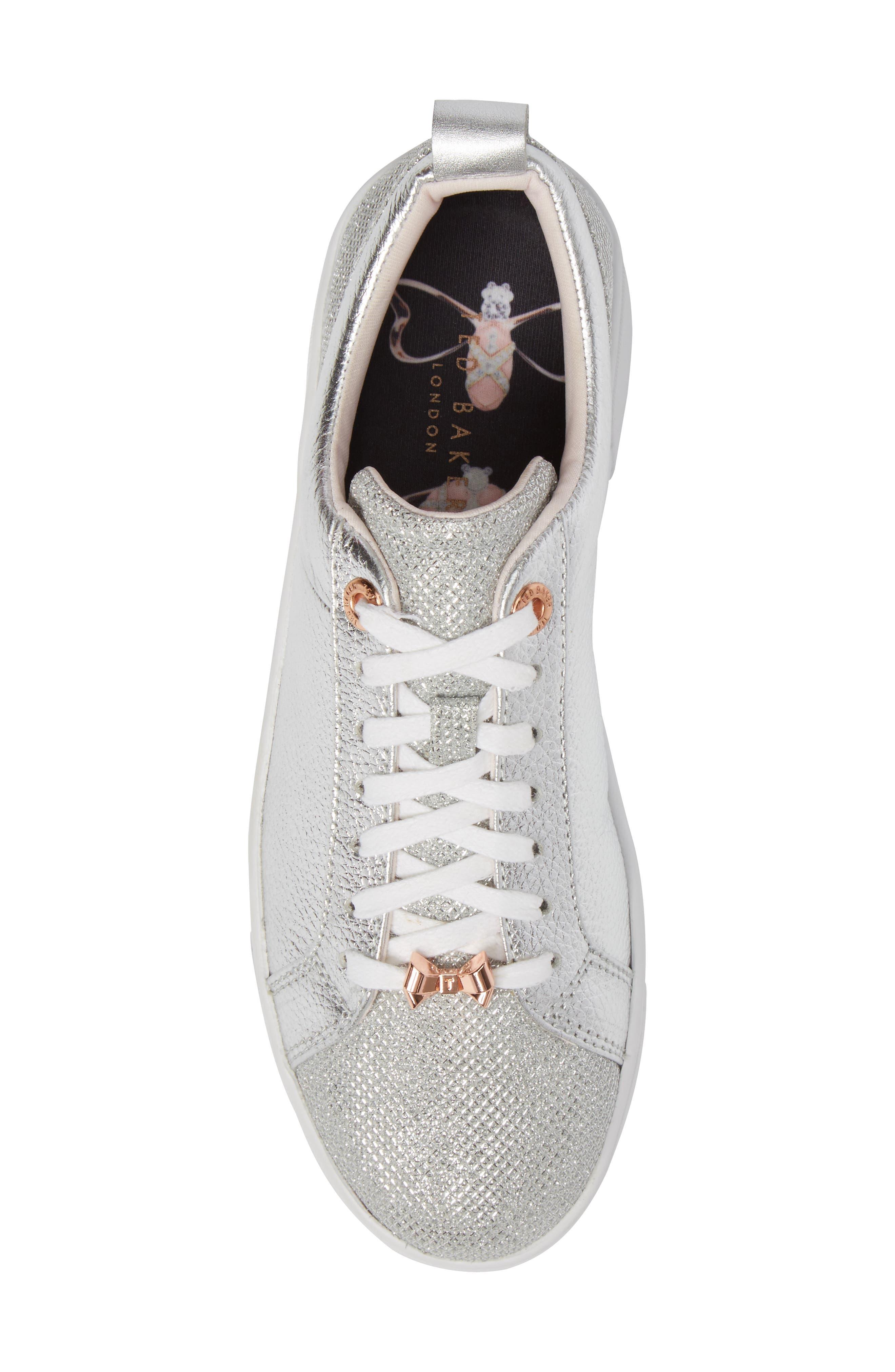 Kulei Sneaker,                             Alternate thumbnail 6, color,                             Silver Leather