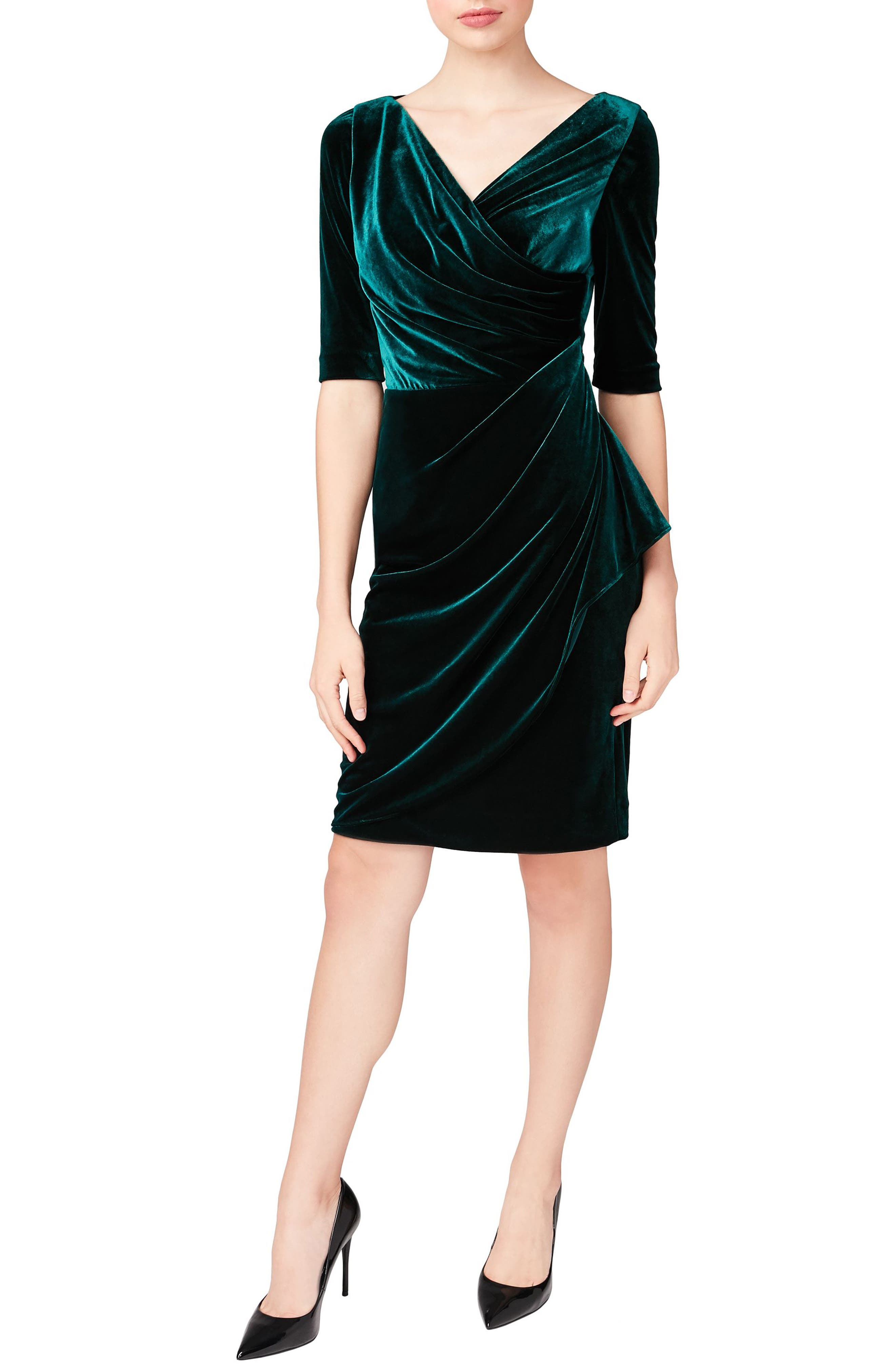 Betsey Johnson Velvet Sheath Dress