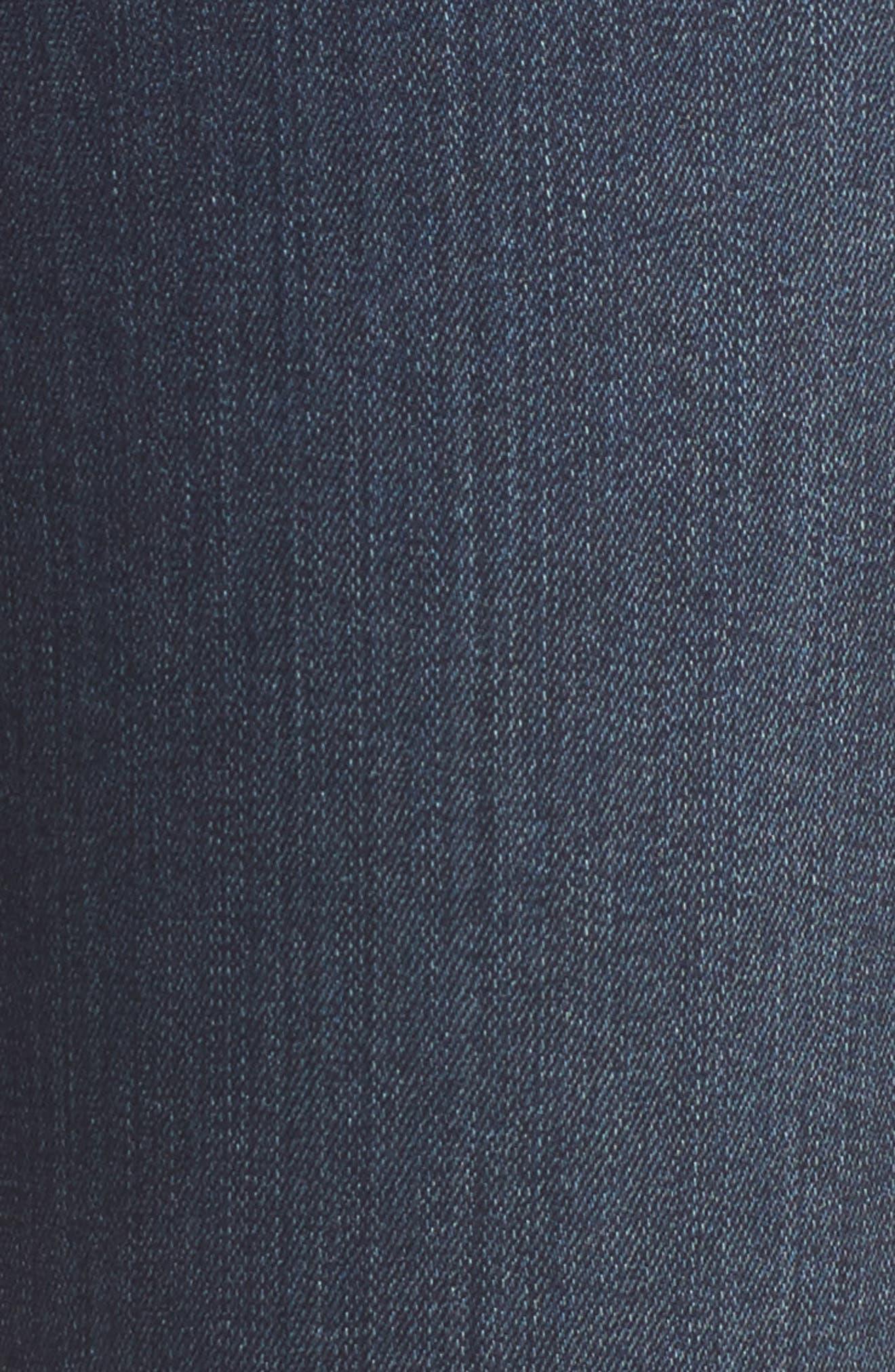 Transcend - Hoxton High Waist Ultra Skinny Jeans,                             Alternate thumbnail 7, color,                             Nottingham