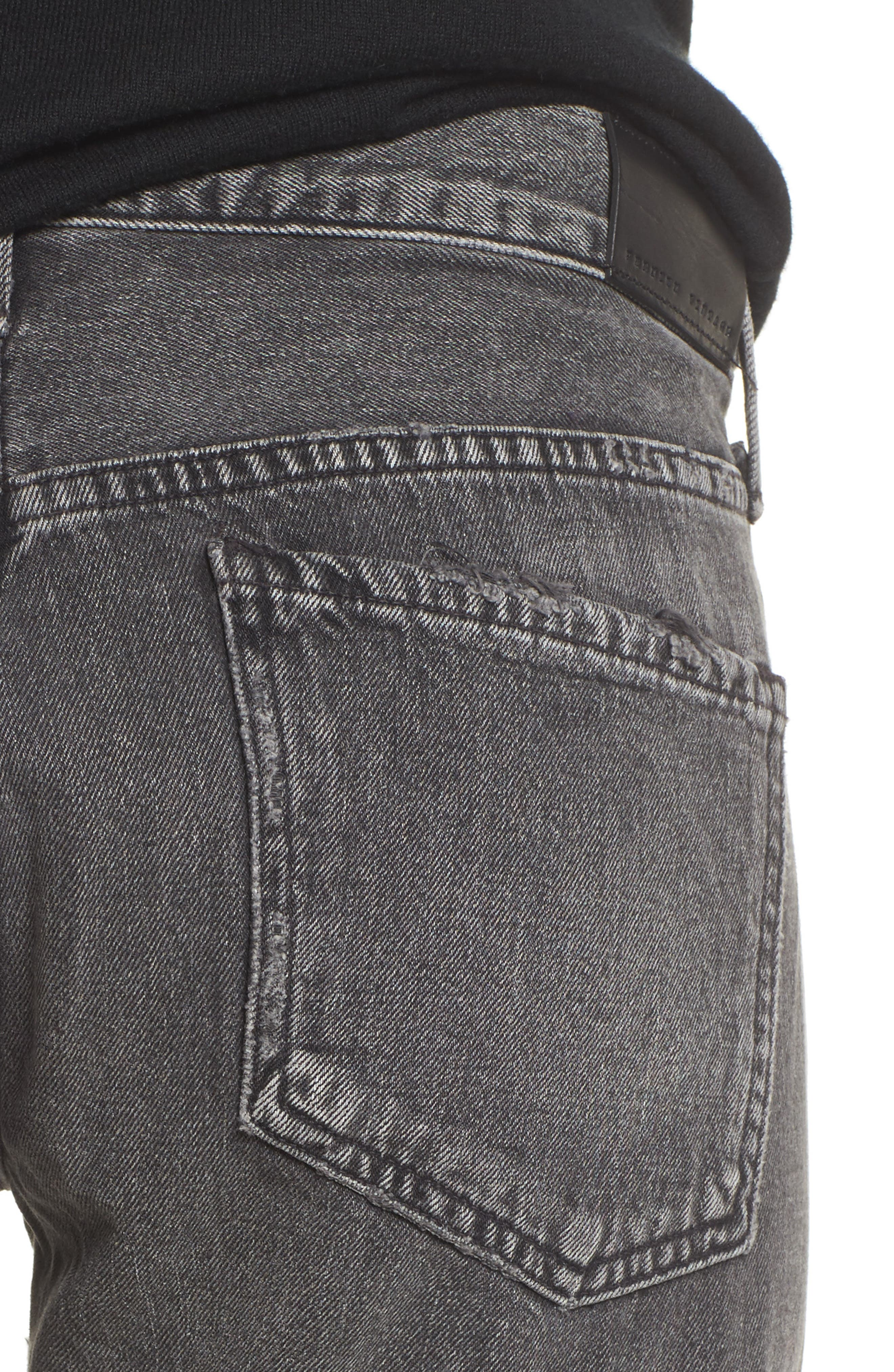 Alternate Image 4  - Citizens of Humanity Emerson Studded Slim Boyfriend Jeans (Studded Hideout)