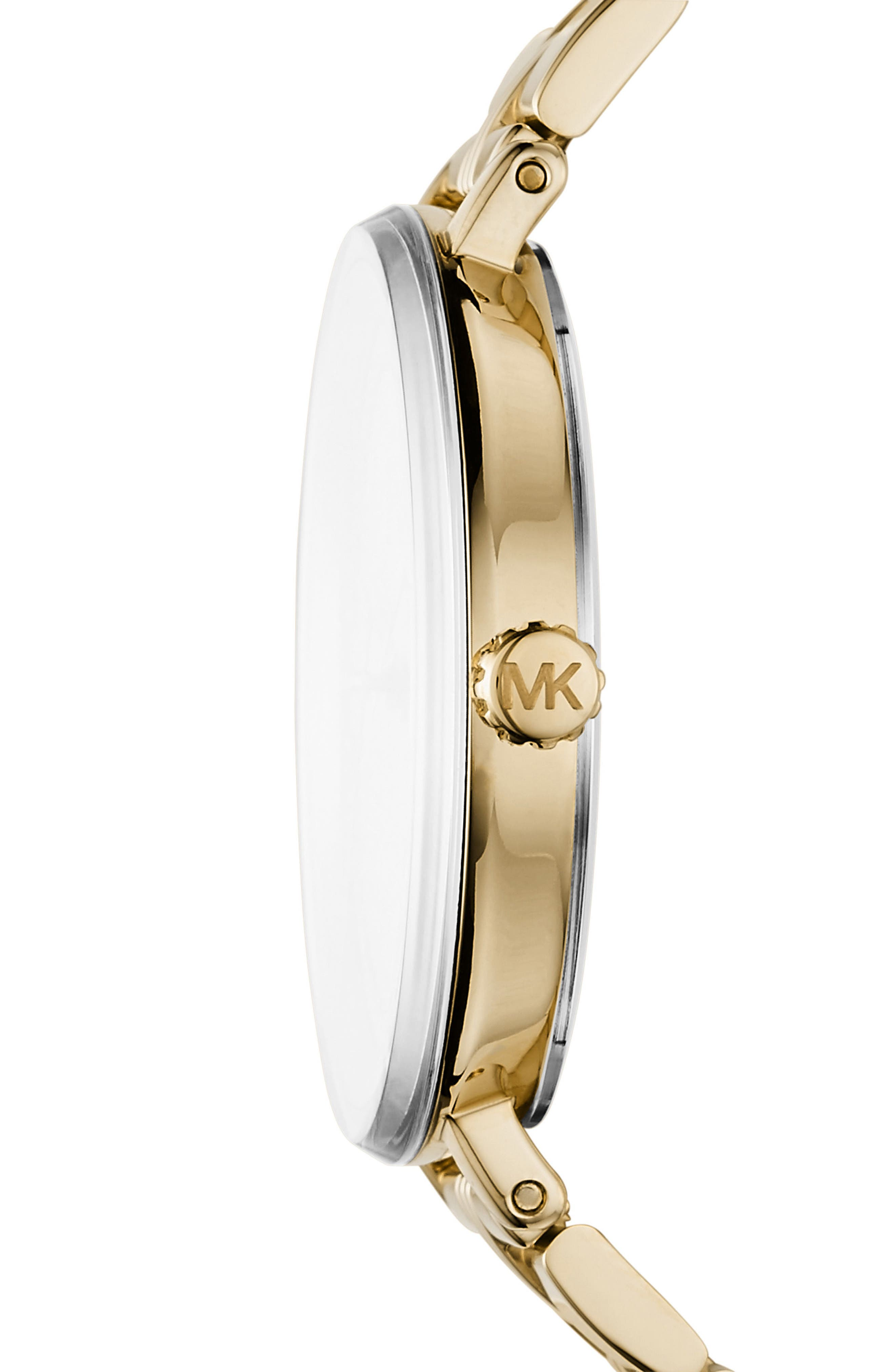 Alternate Image 2  - Michael Kors Bridgette Crystal Bracelet Watch, 38mm