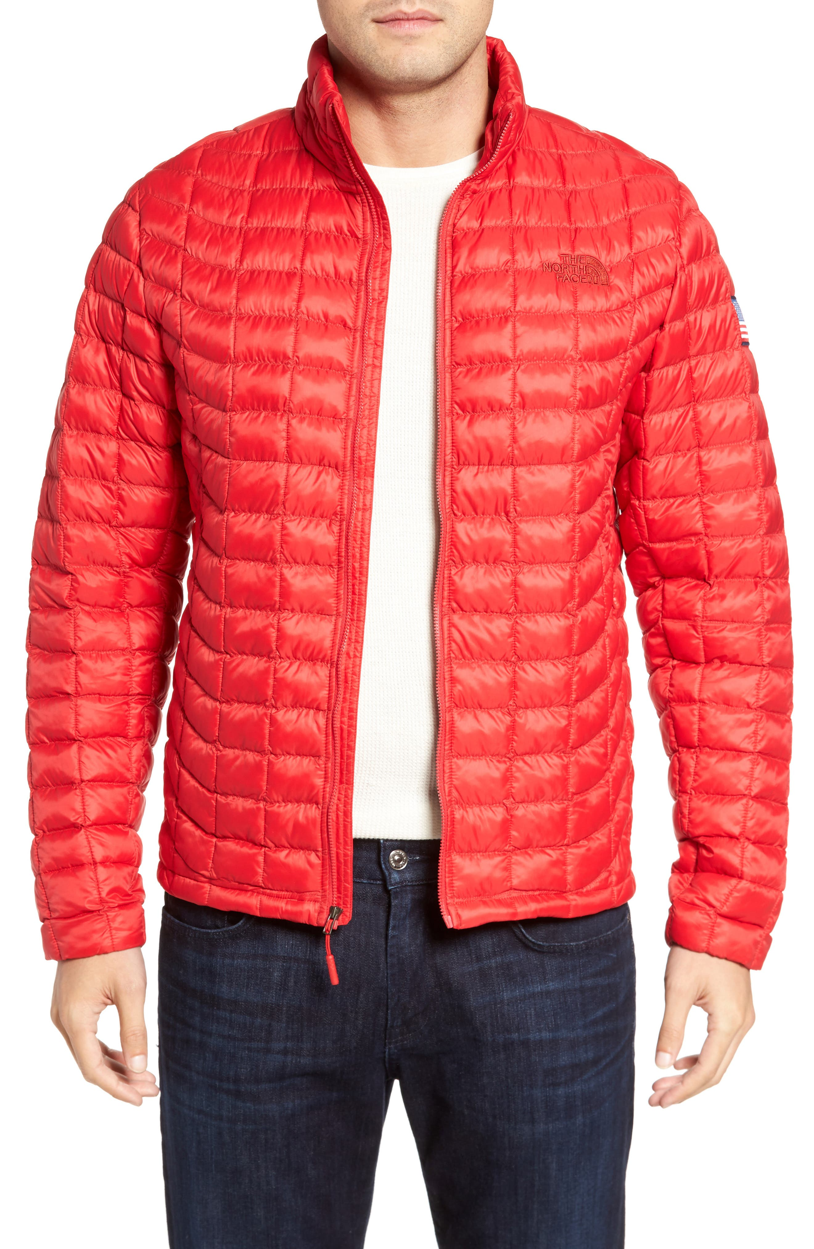 International Collection ThermoBall PrimaLoft<sup>®</sup> Jacket,                             Main thumbnail 1, color,                             Red