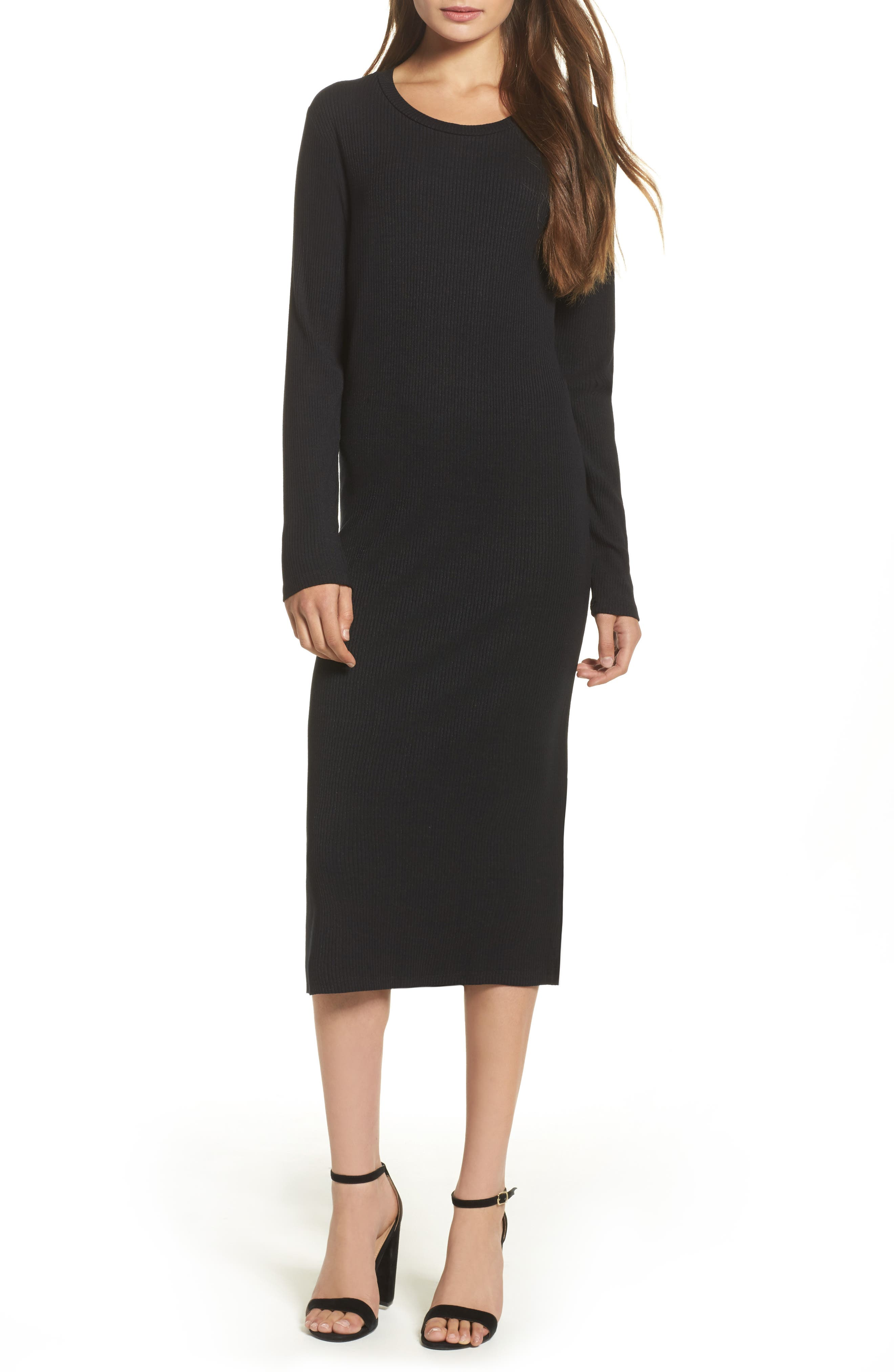 Alternate Image 1 Selected - Knot Sisters Midi Dress